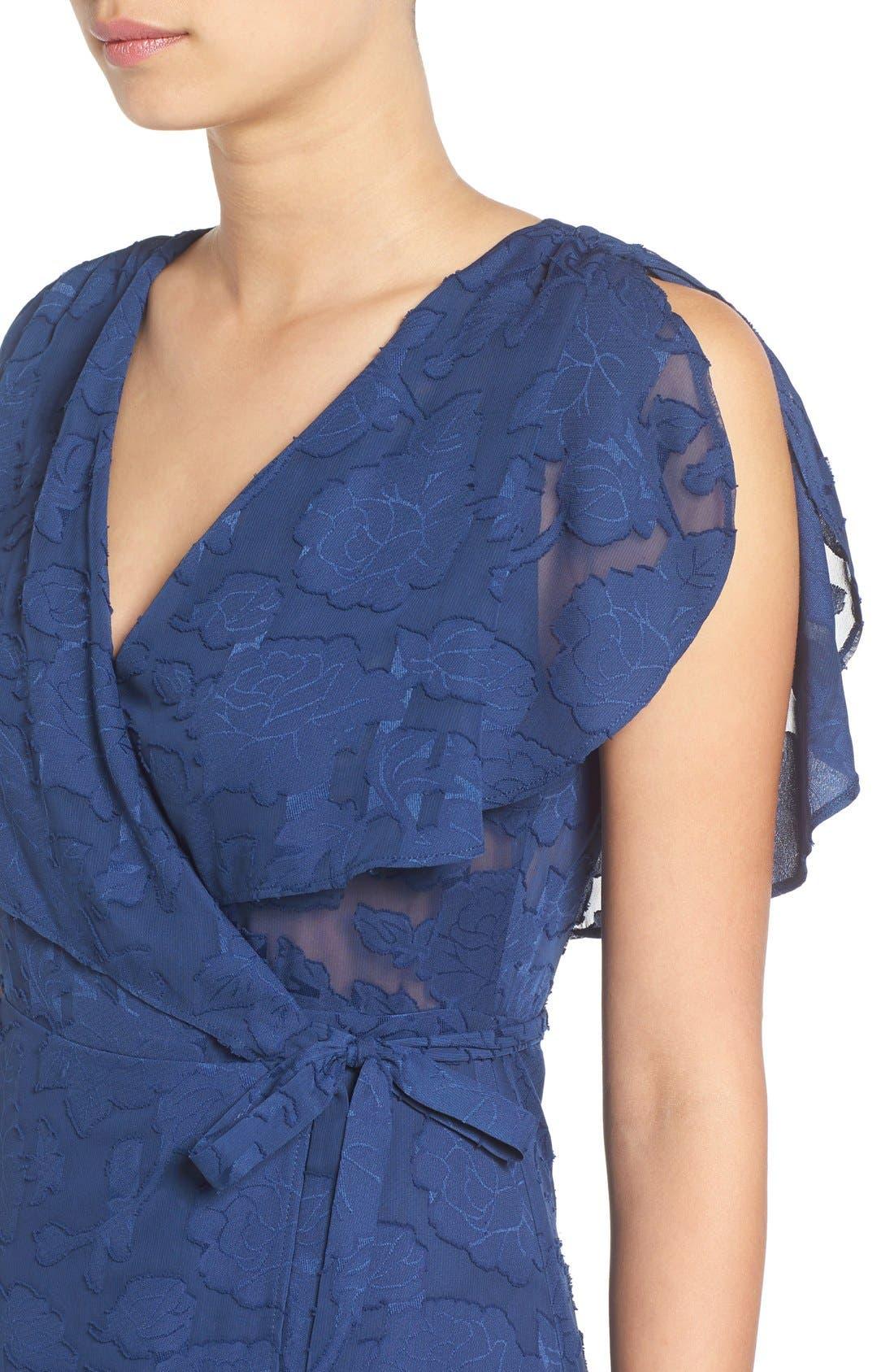 Alternate Image 4  - Ten Sixty Sherman Chiffon Wrap Dress