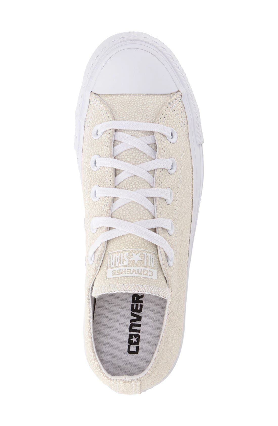 Alternate Image 3  - Converse Chuck Taylor® All Star® 'Stingray - Ox' Low Top Sneaker (Women)