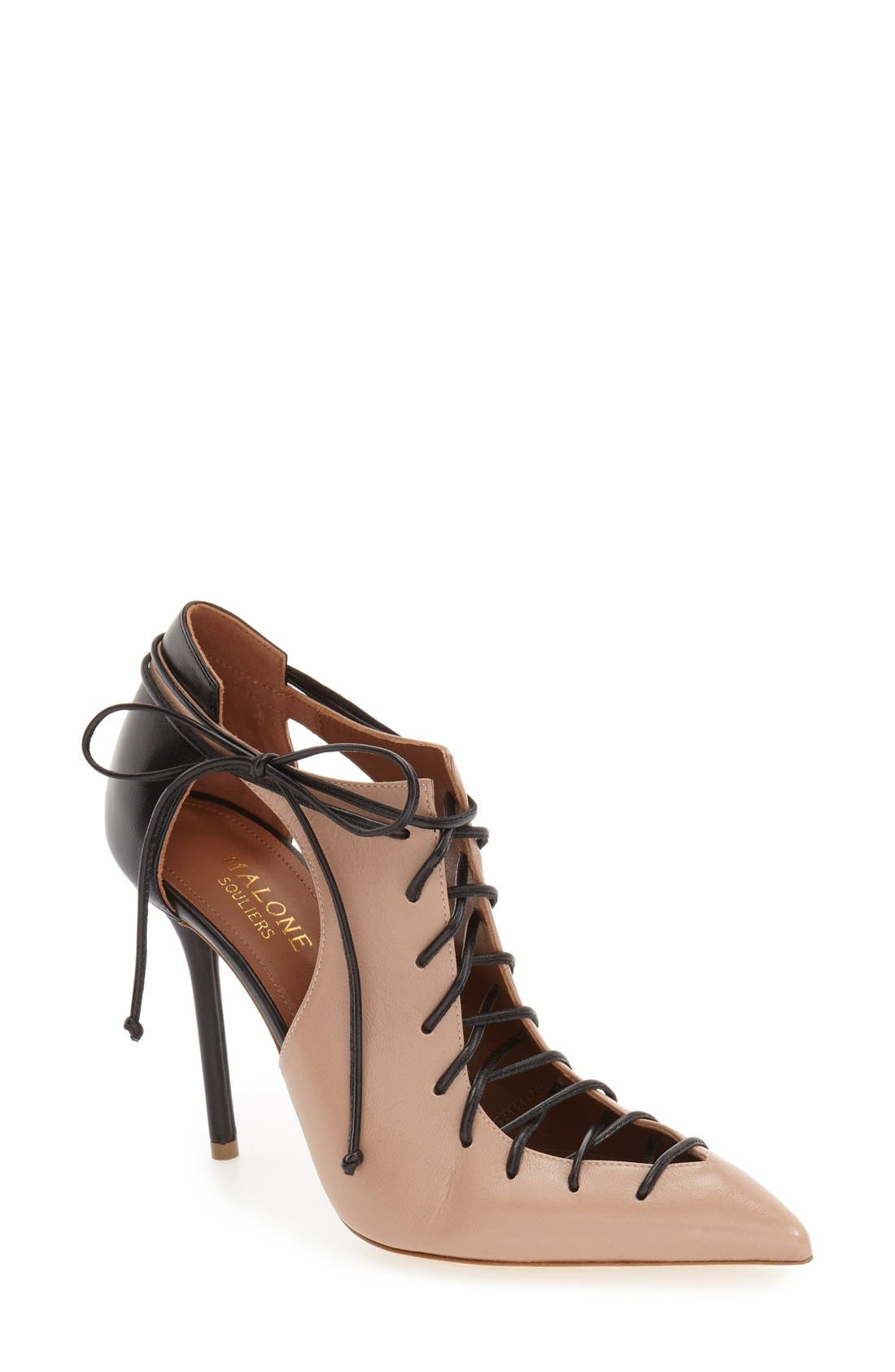 Alternate Image 1 Selected - Malone Souliers 'Montana' Pointy Toe Pump (Women)