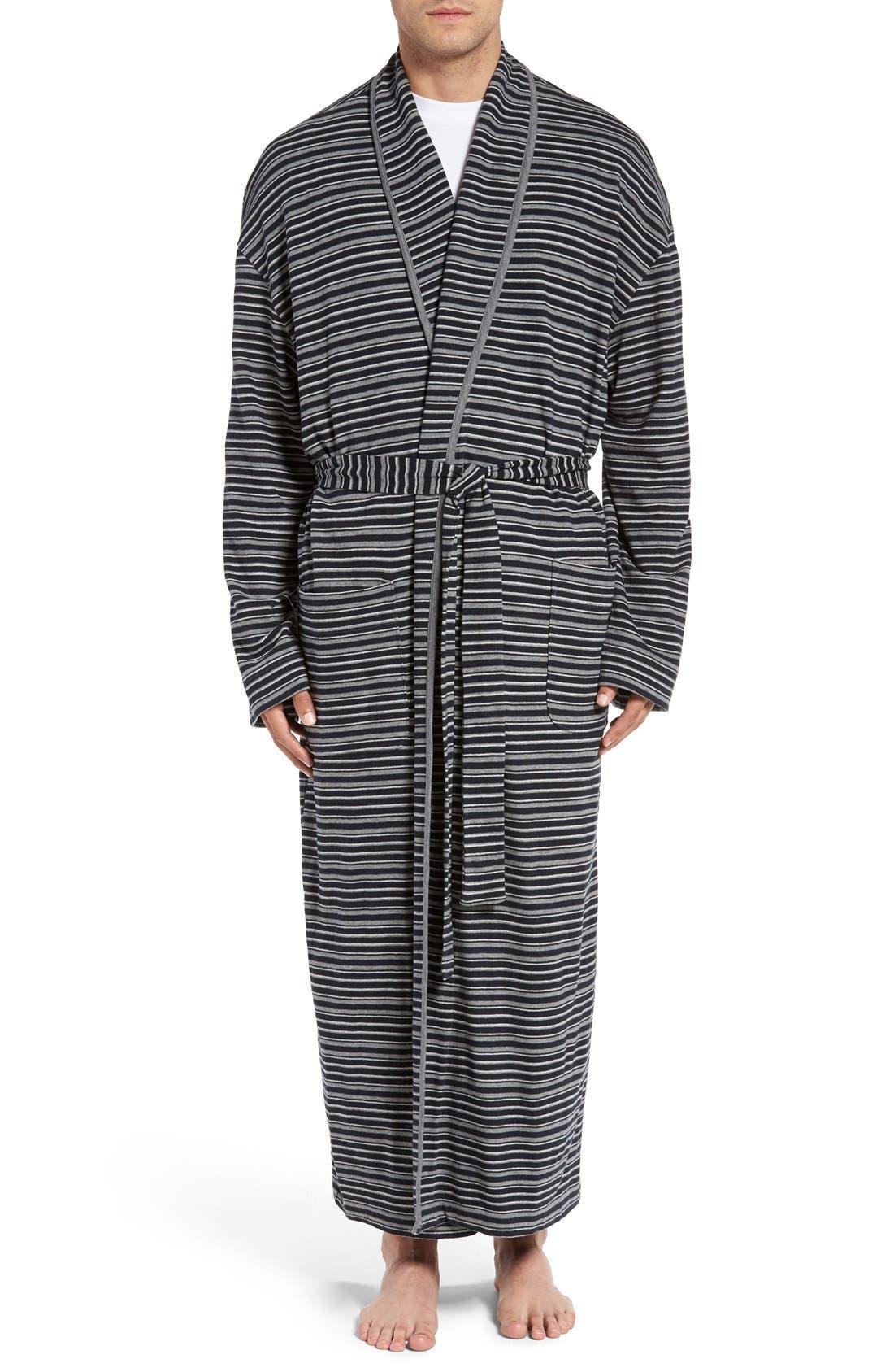 MAJESTIC INTERNATIONAL 'Pure/Simple' Cotton Robe