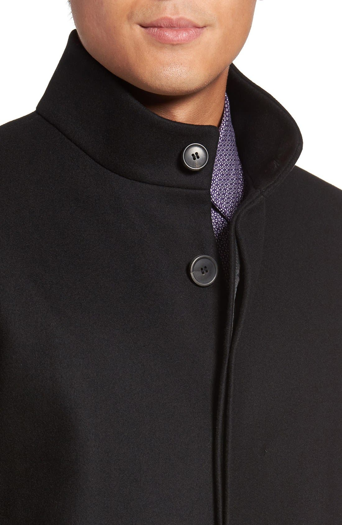 Alternate Image 4  - Theory 'Belvin' Wool Blend Car Coat