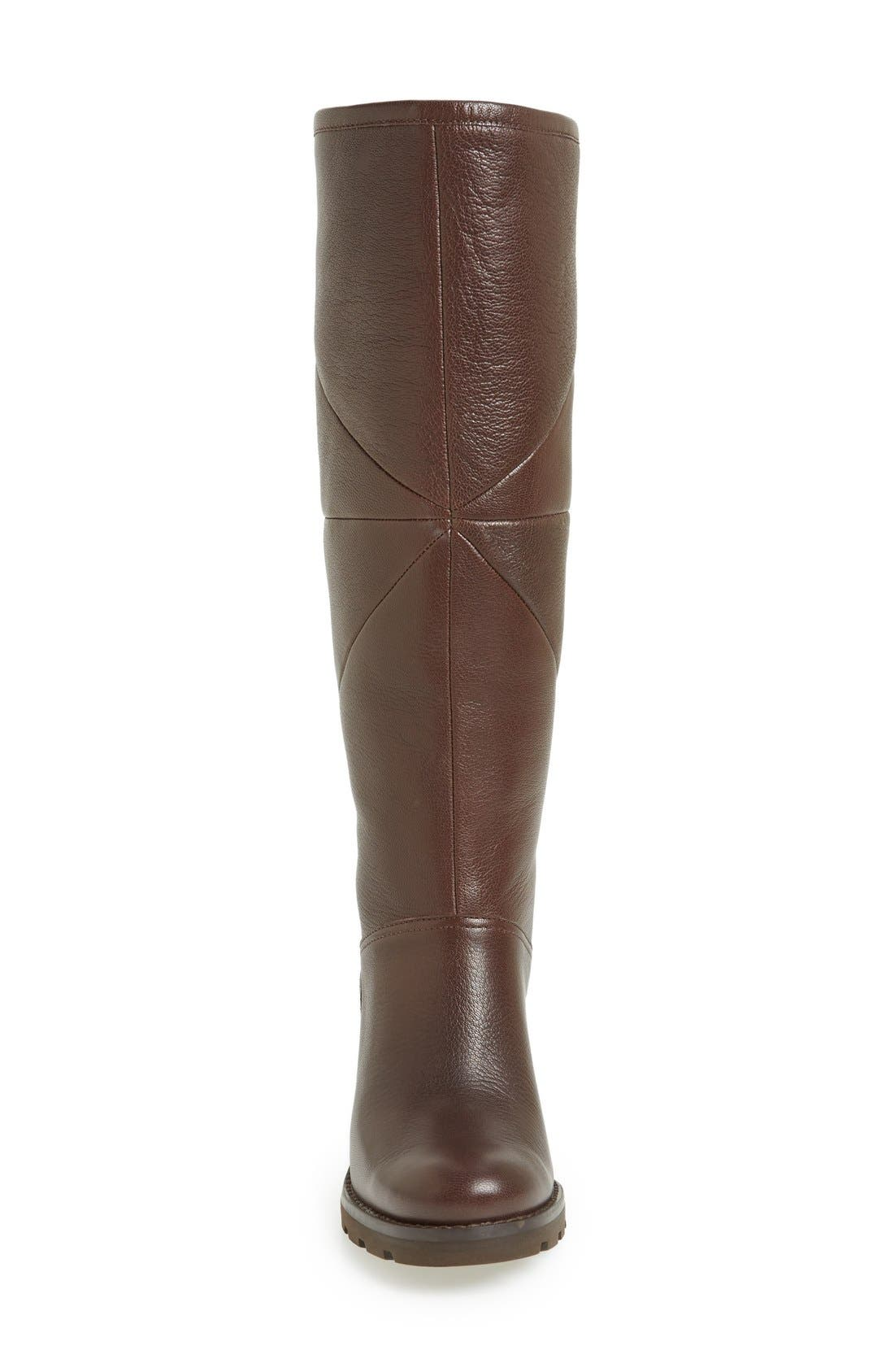 Alternate Image 3  - UGG® 'Avery' Water Resistant Genuine Shearling Lined Leather Boot (Women)