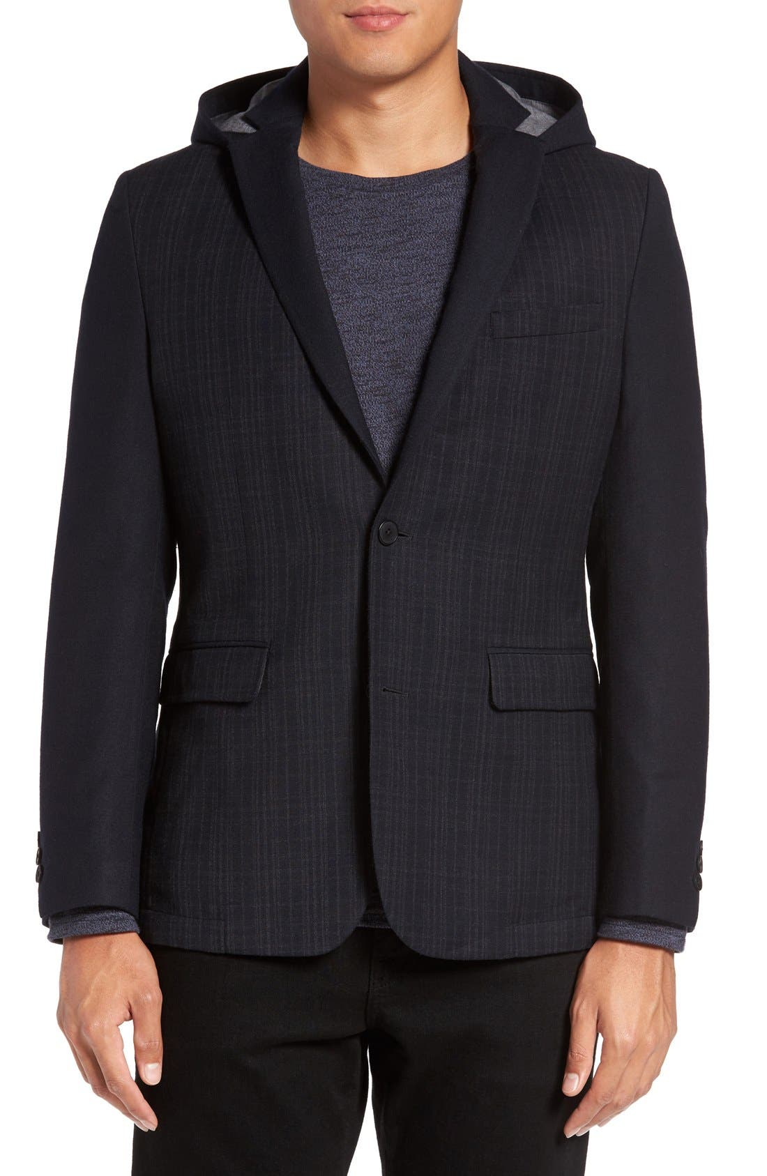 Vince Camuto Hooded Sport Coat