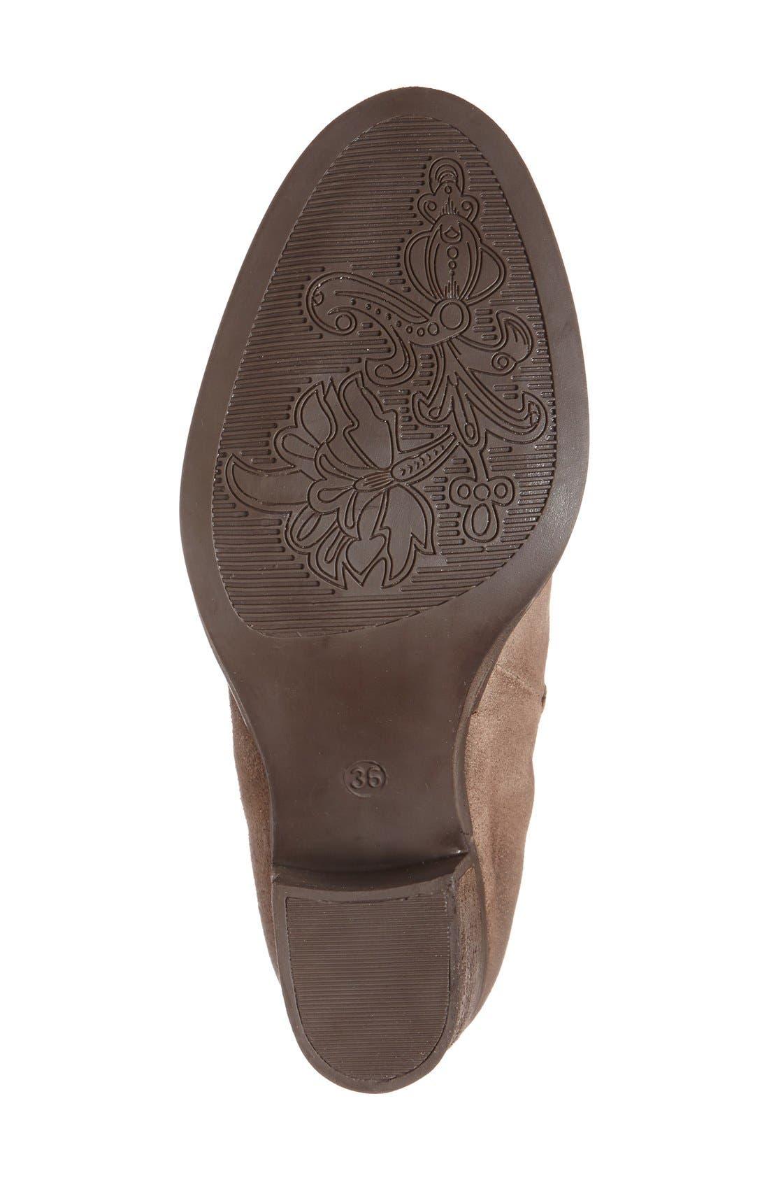 Alternate Image 4  - Bos. & Co. 'Belfield' Waterproof Chelsea Boot (Women)