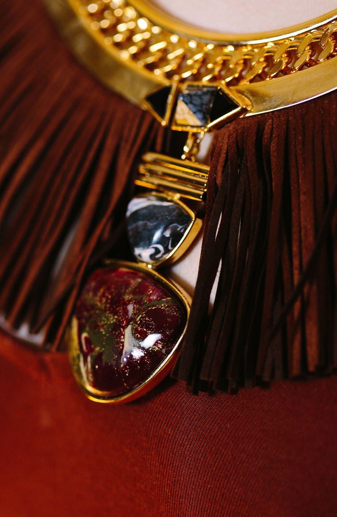 Alternate Image 2  - Natalie Waldman Hula Collar Necklace