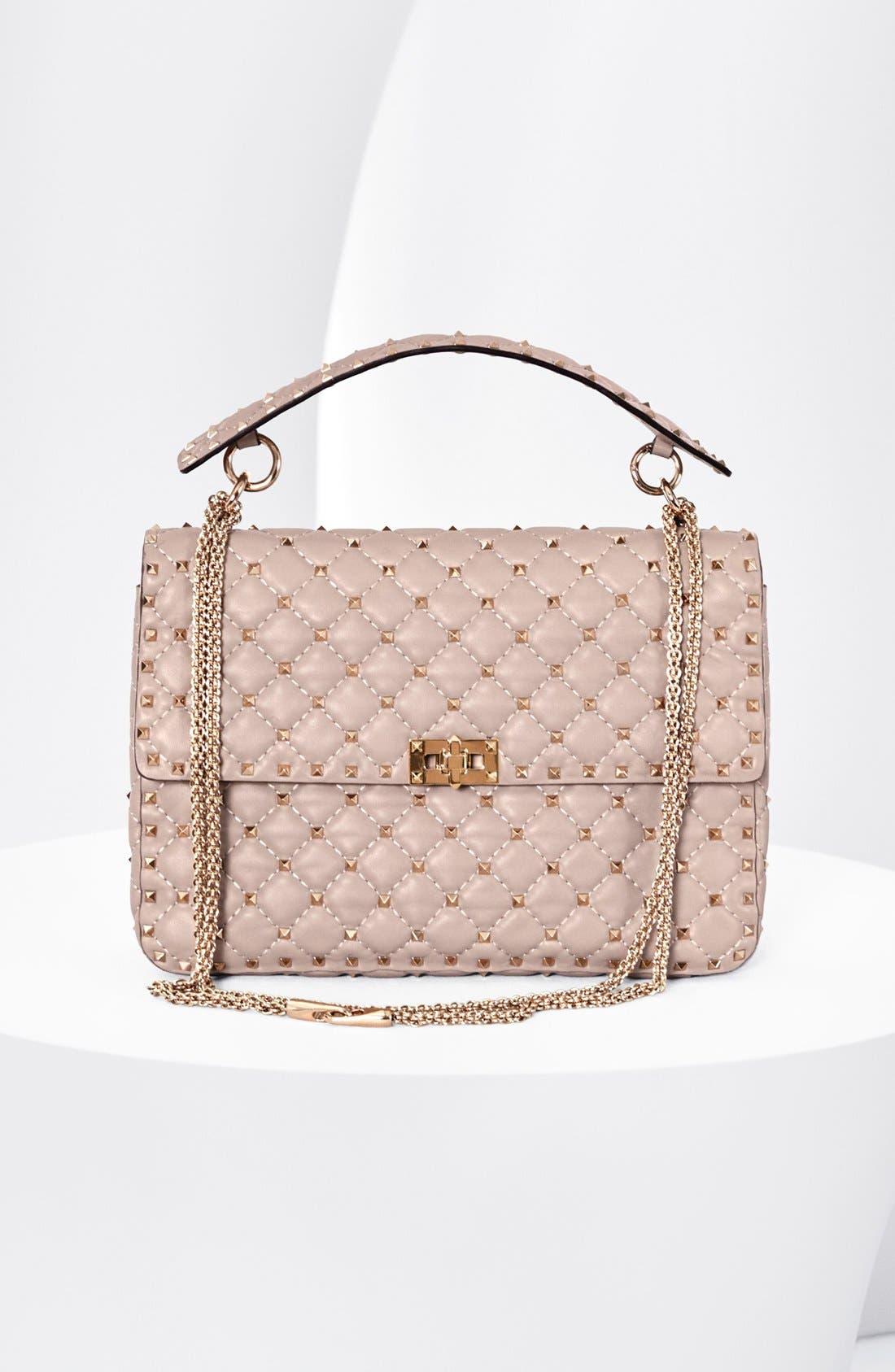 Valentino 'Rockstud Matelassé' Shoulder Bag