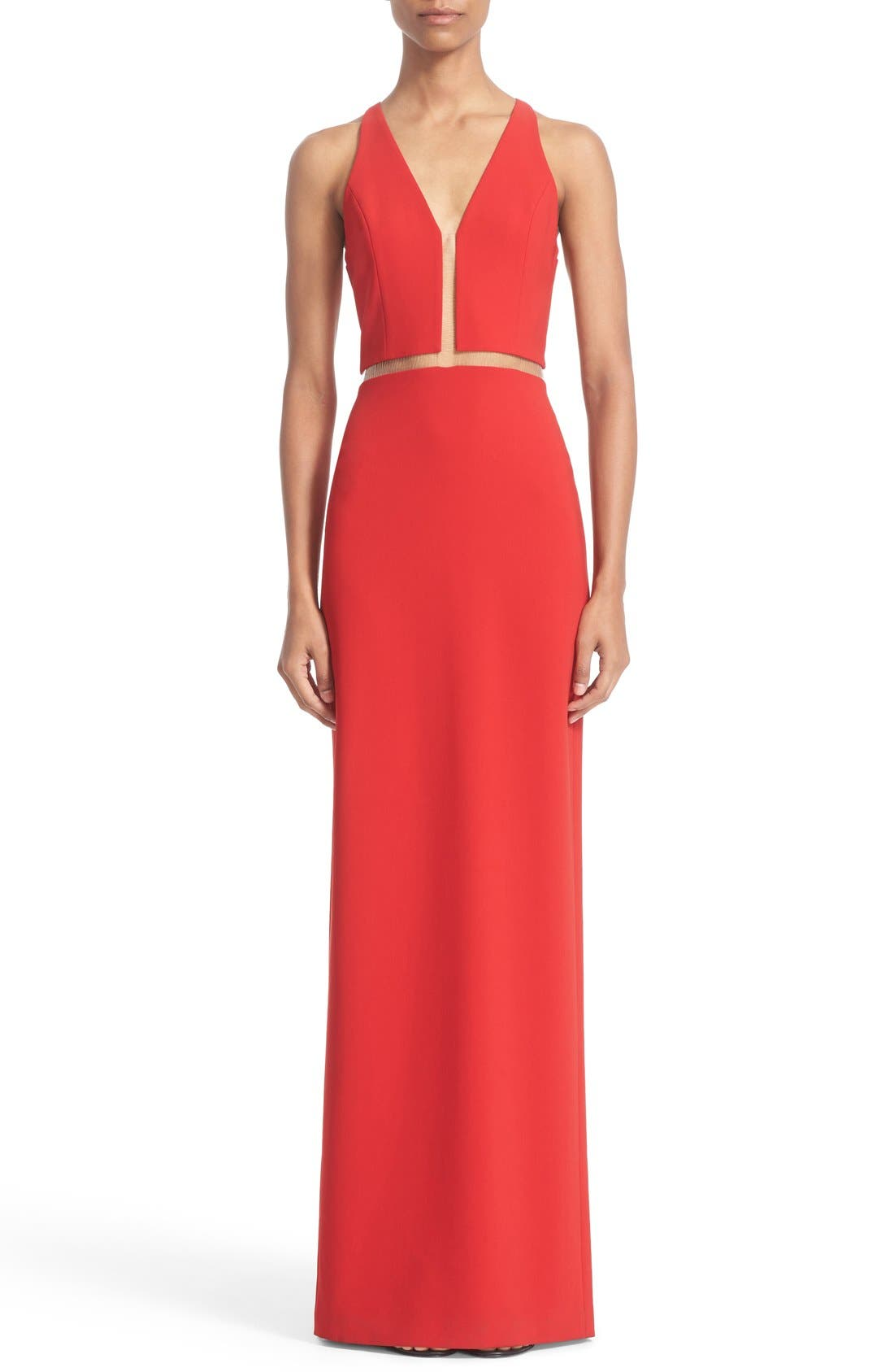 Alexander Wang Ladder Stitch Gown