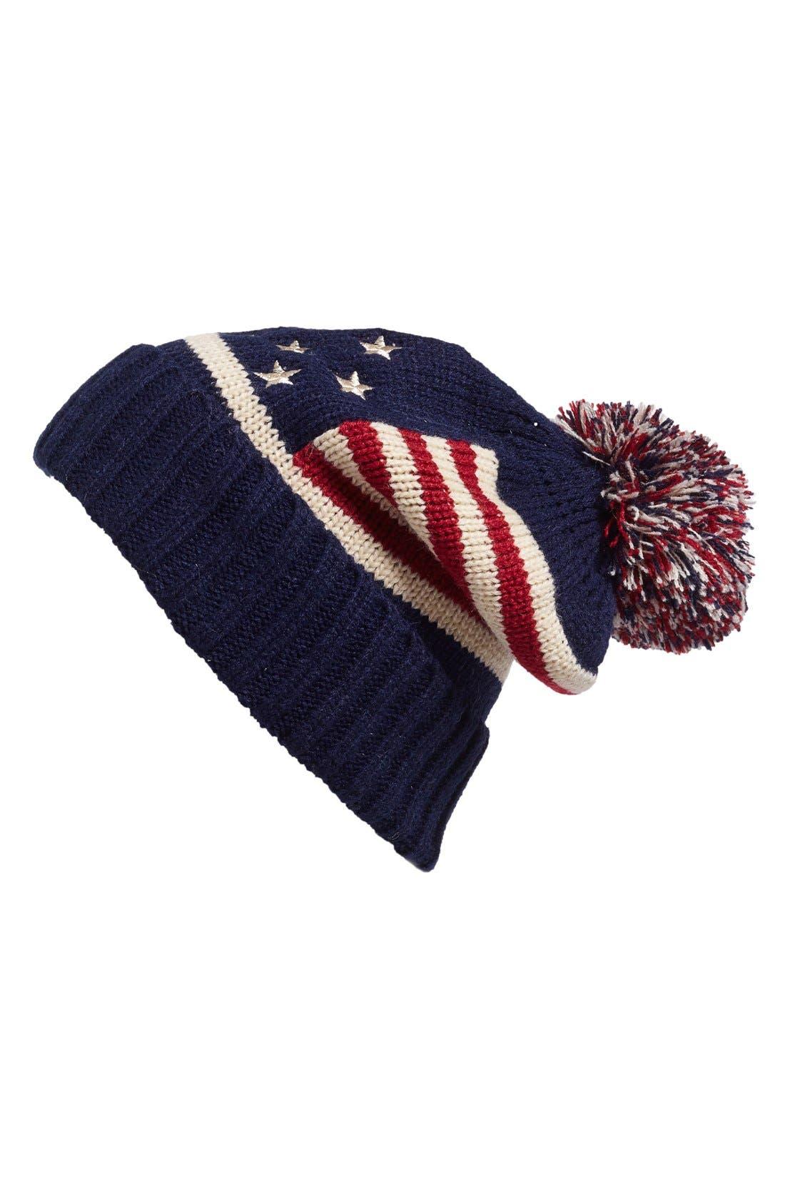 Alternate Image 1 Selected - BP. American Flag Beanie