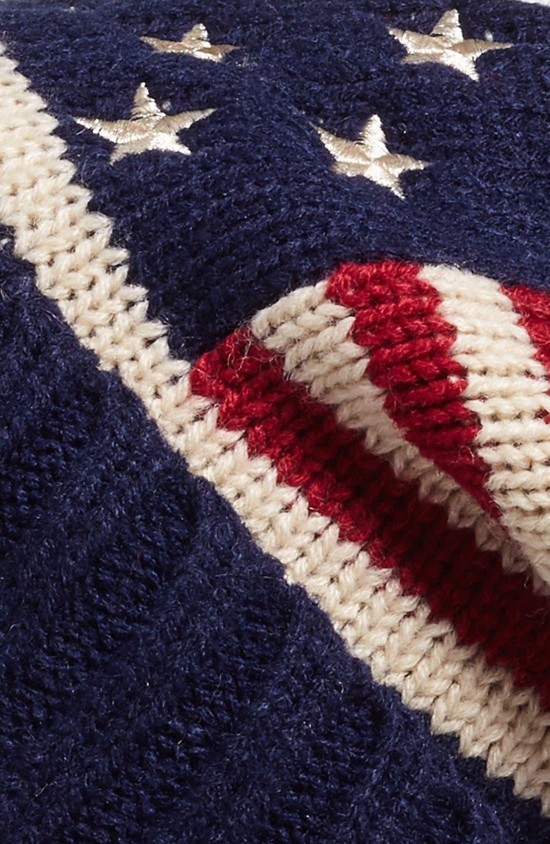 Alternate Image 3  - BP. American Flag Beanie