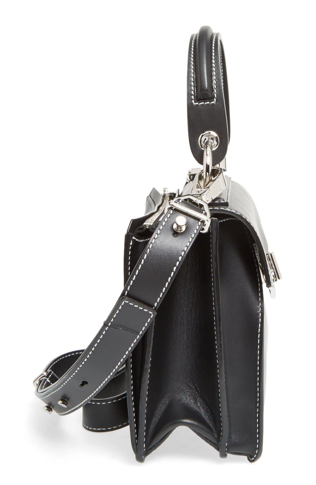 Alternate Image 5  - Proenza Schouler 'Small Hava' Top Handle Calfskin Leather Satchel
