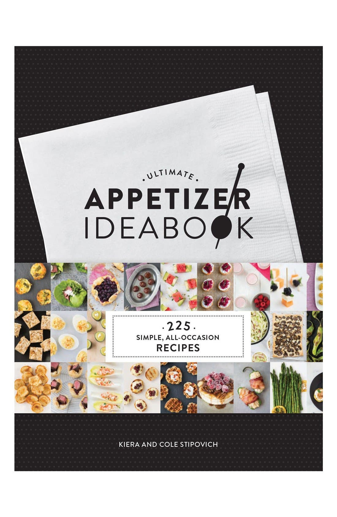 Alternate Image 1 Selected - 'Ultimate Appetizer Ideabook' Book