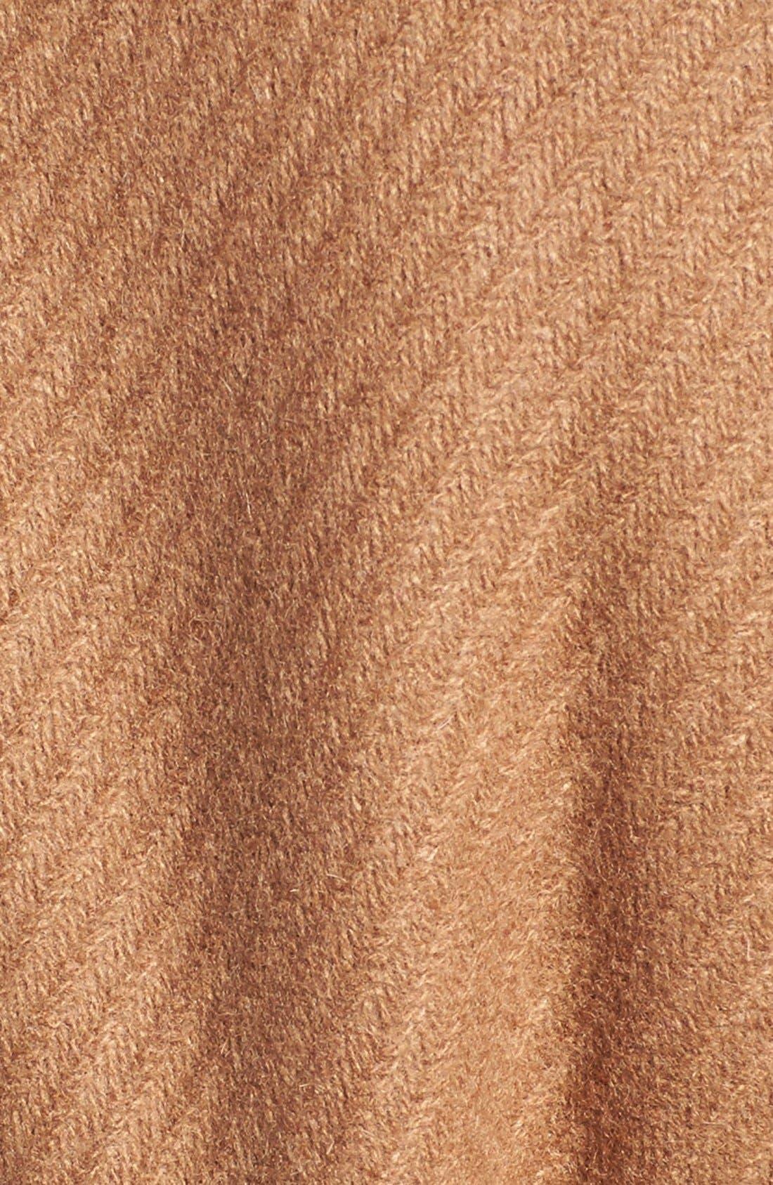 Alternate Image 5  - Trina Turk 'Chloe' Wool Blend Peacoat