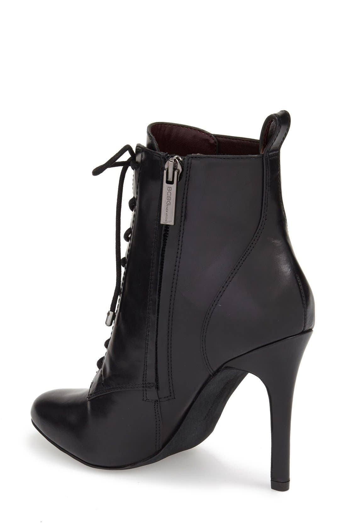 Alternate Image 2  - BCBGeneration 'Banx' Lace-Up Bootie (Women)