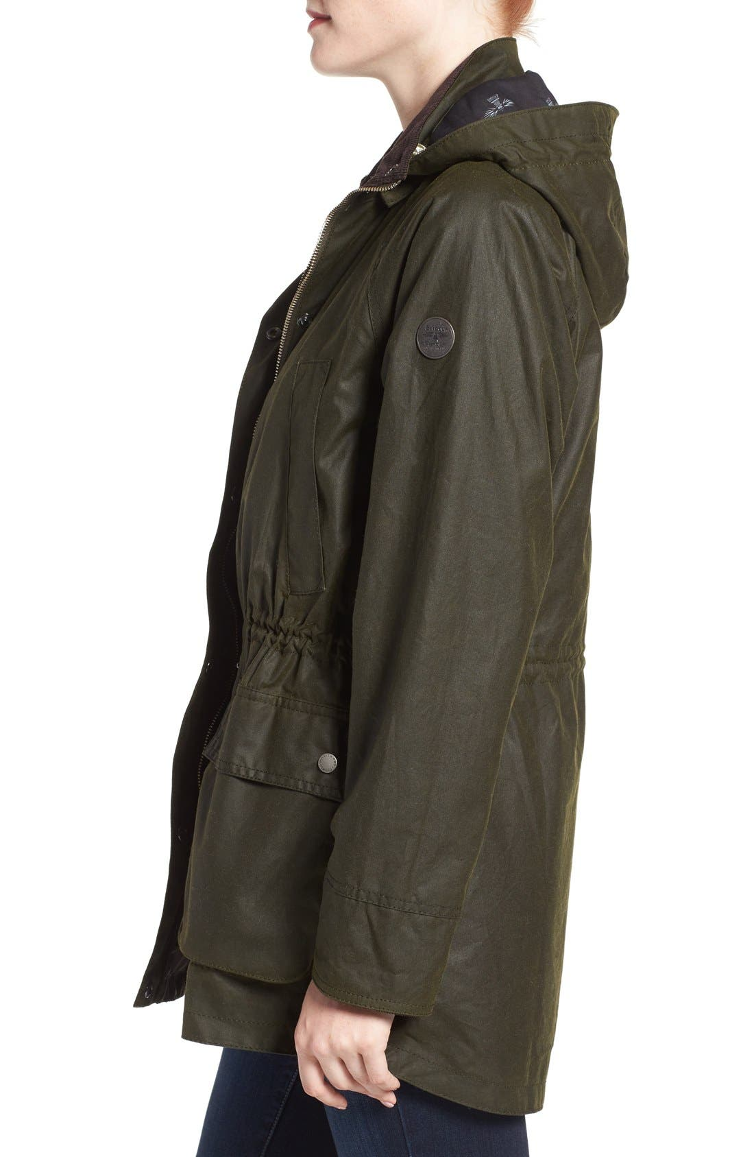 Alternate Image 3  - Barbour Brae Waxed Cotton Parka