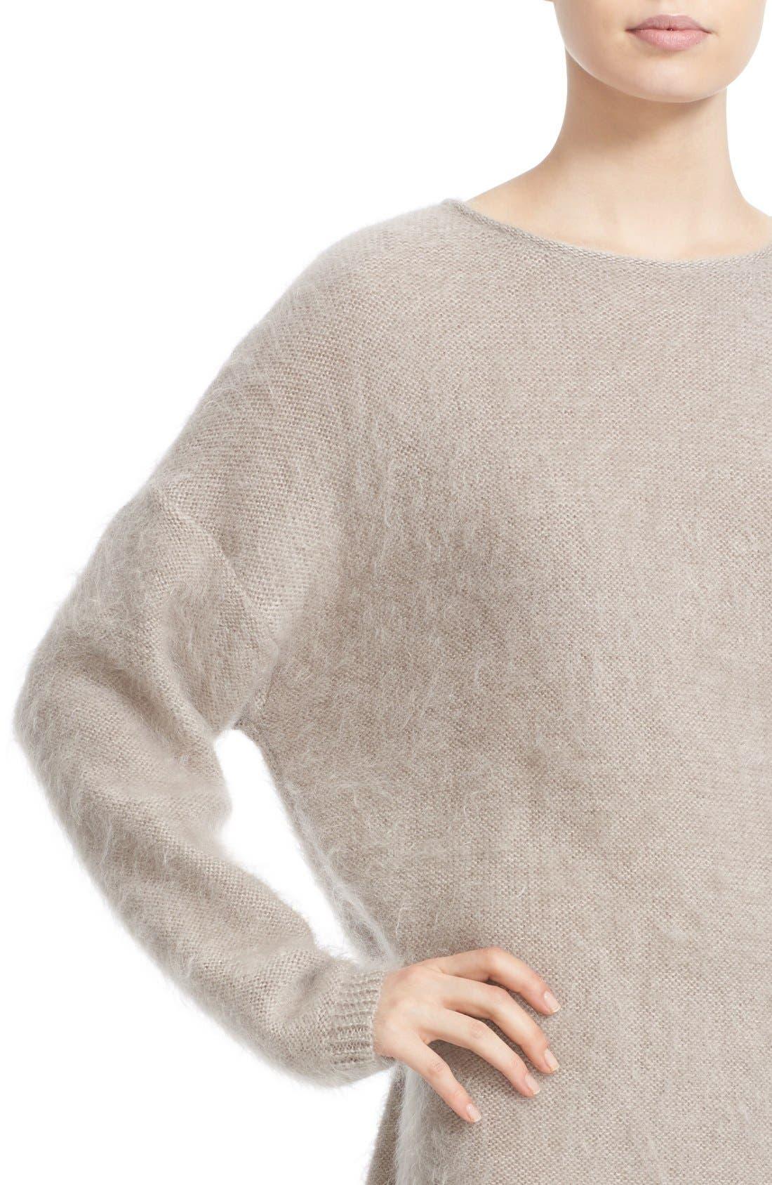Alternate Image 6  - Eleventy Mohair & Silk Sweater Dress