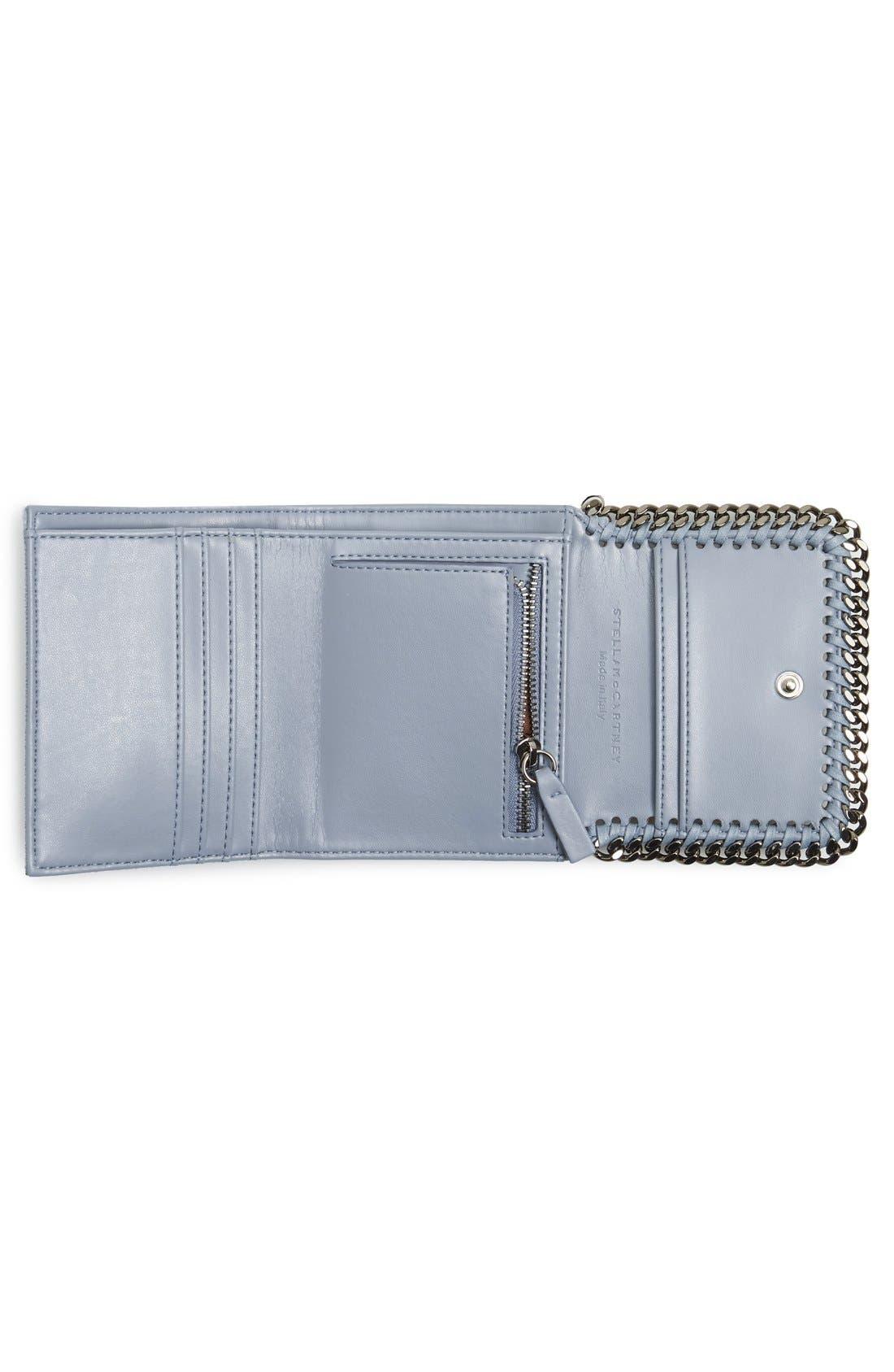Alternate Image 3  - Stella McCartney 'Small Falabella' Faux Leather French Wallet
