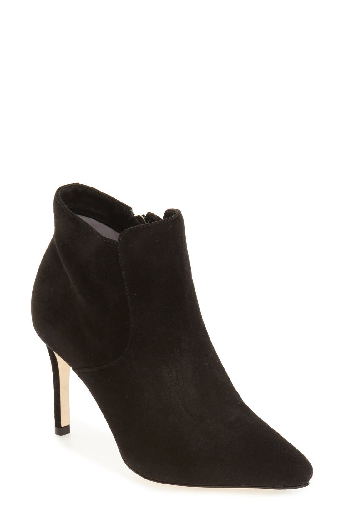 Main Image - Johnston & Murphy 'Valerie' Pointy Toe Bootie (Women)