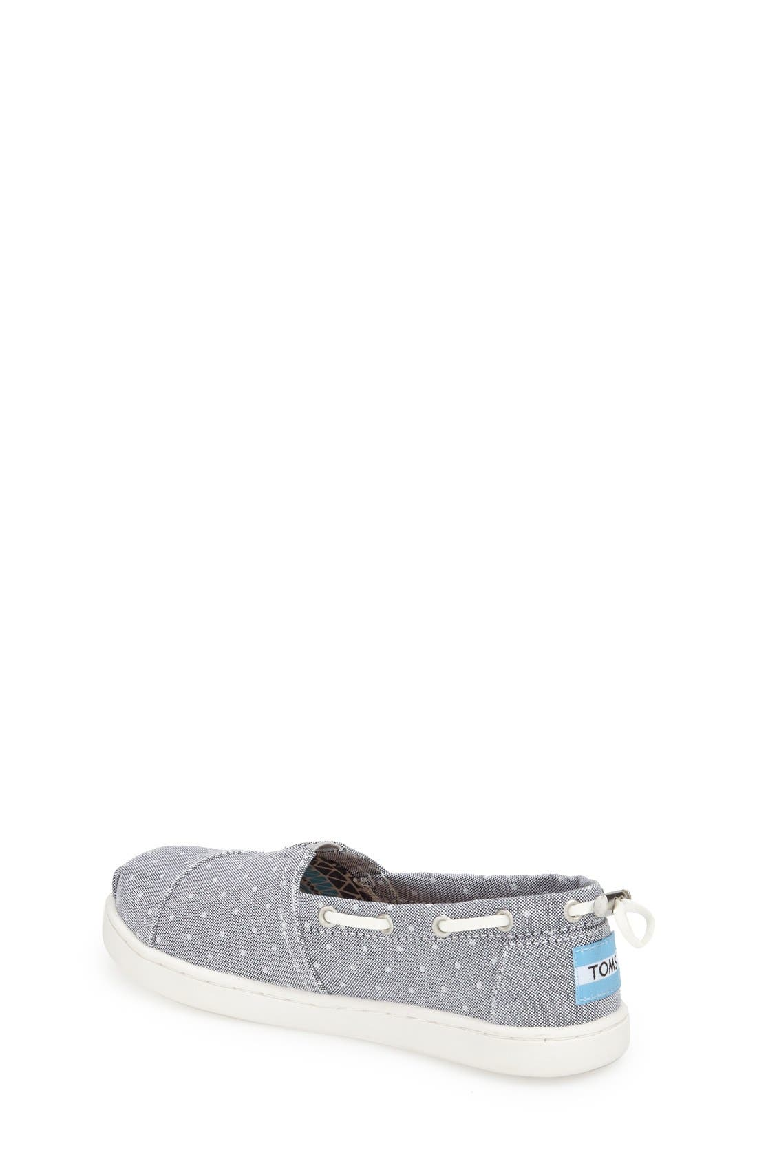 Alternate Image 5  - TOMS 'Bimini - Youth' Slip-On (Toddler, Little Kid & Big Kid)