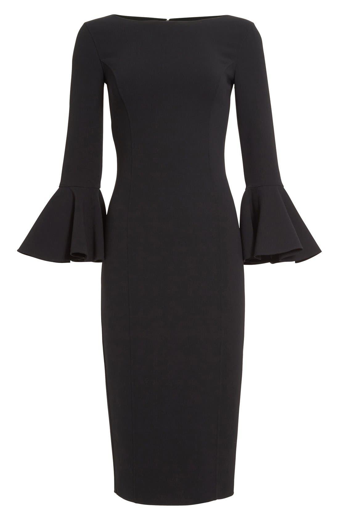 Alternate Image 4  - Michael Kors Bell Sleeve Sheath Dress