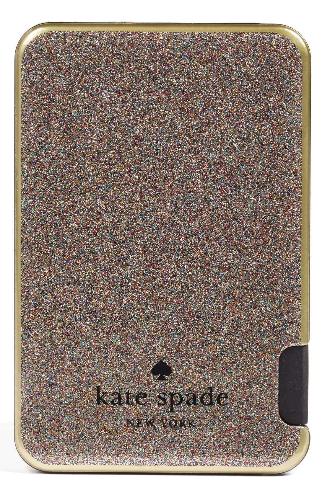 Alternate Image 1 Selected - kate spade new york glitter slim portable charger
