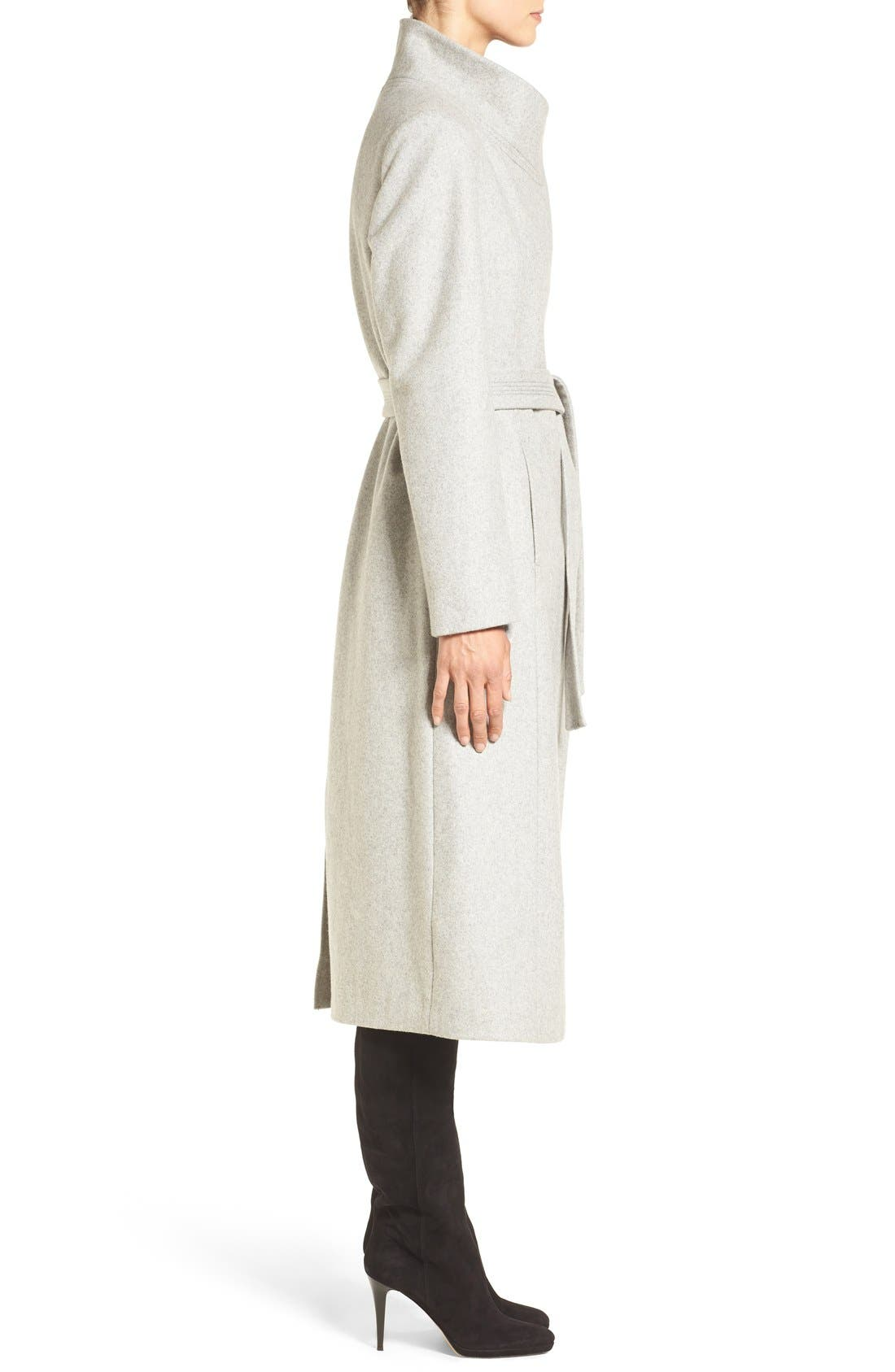 Alternate Image 4  - Kenneth Cole New York Wool Blend Maxi Wrap Coat
