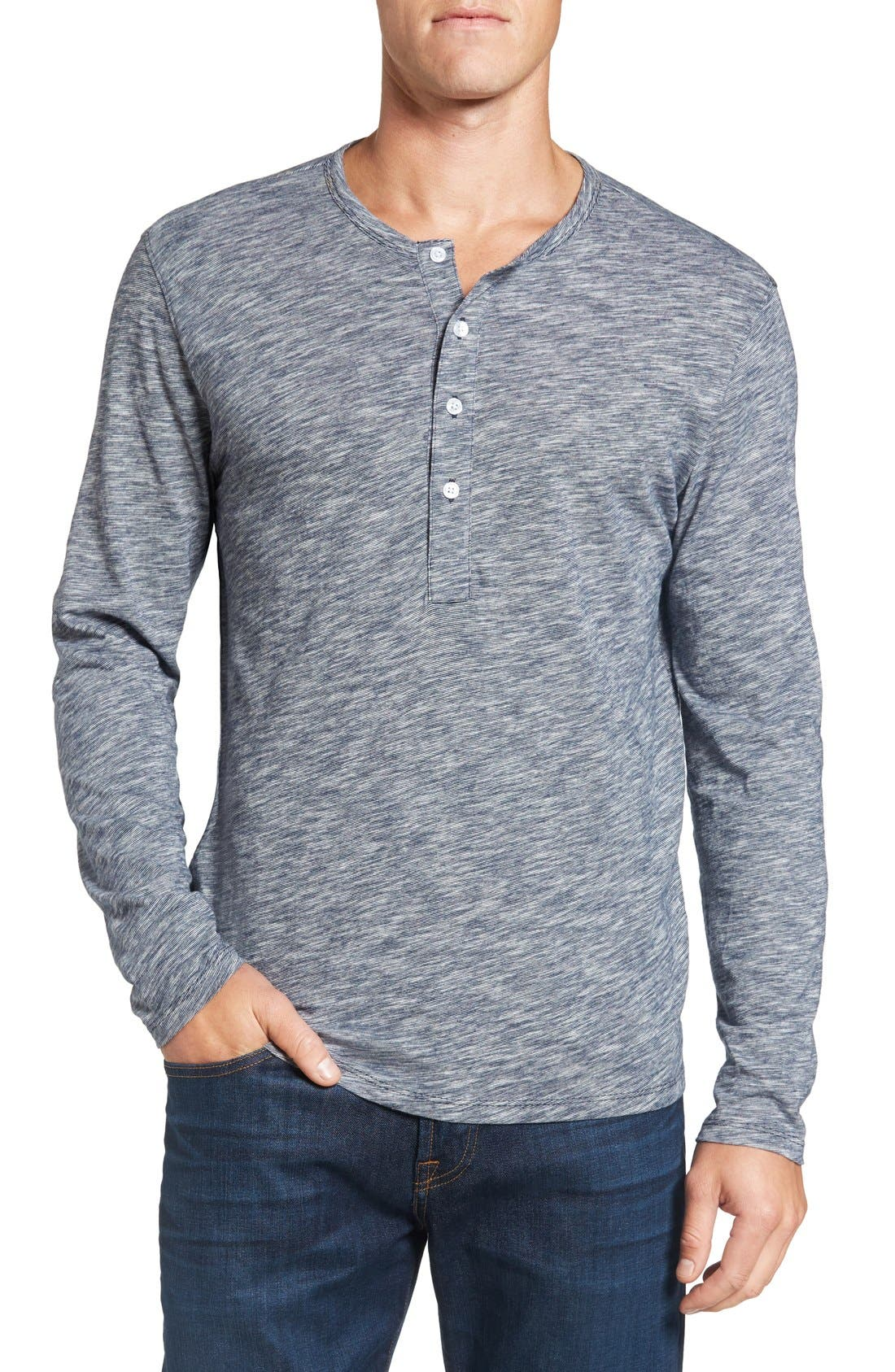 Alternate Image 1 Selected - Bonobos Slim Fit Cotton Henley