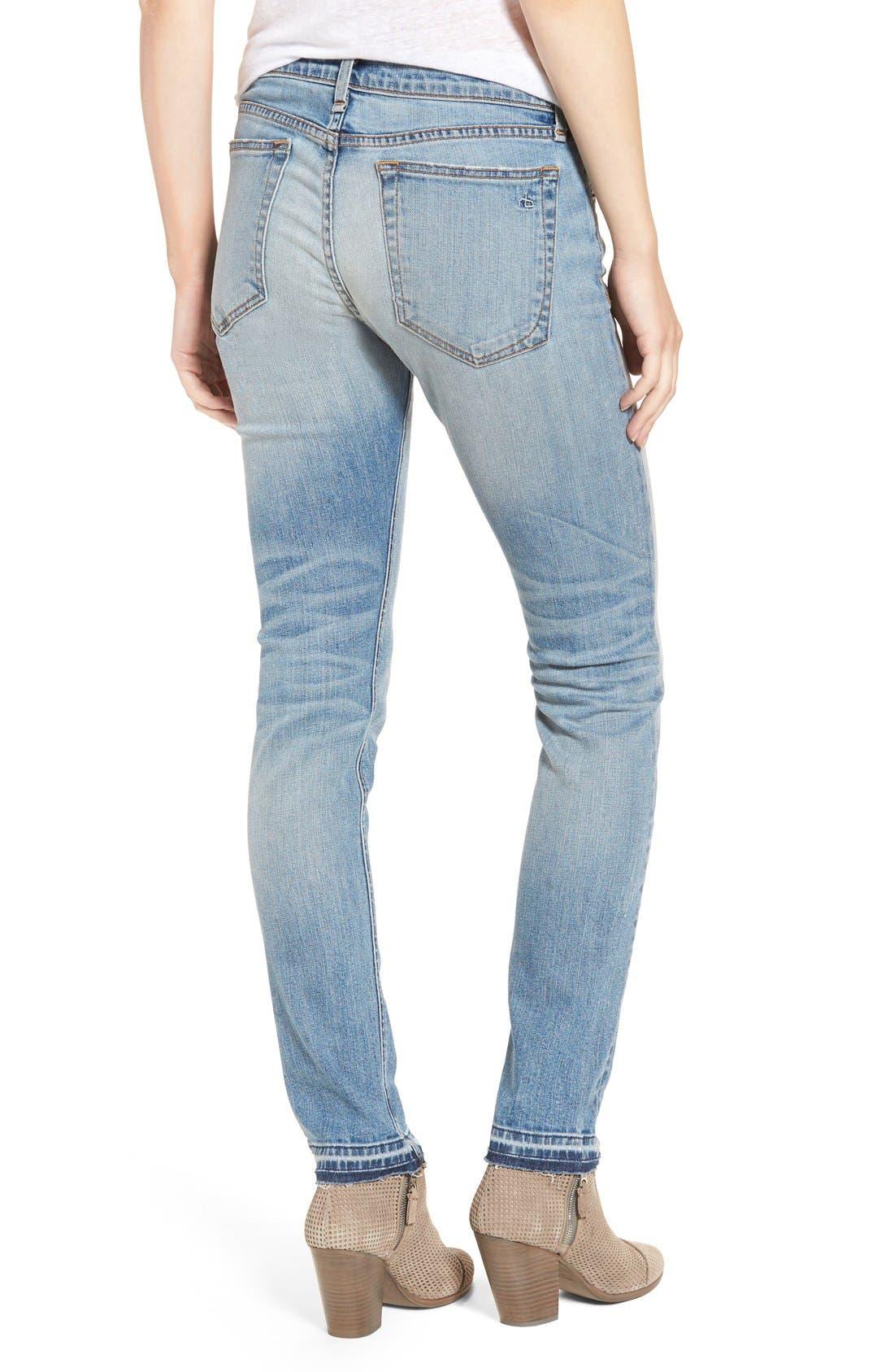 Alternate Image 2  - rag & bone/JEAN 'The Dre' Slim Boyfriend Jeans