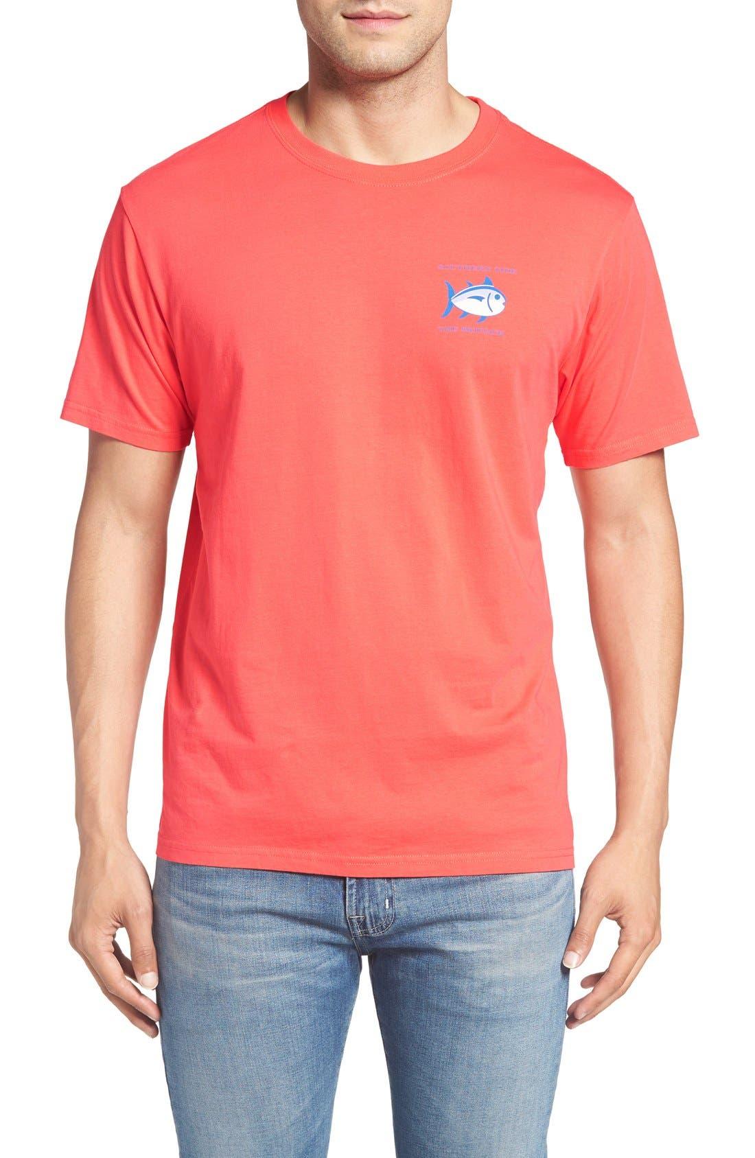 Alternate Image 2  - Southern Tide Short Sleeve Skipjack T-Shirt
