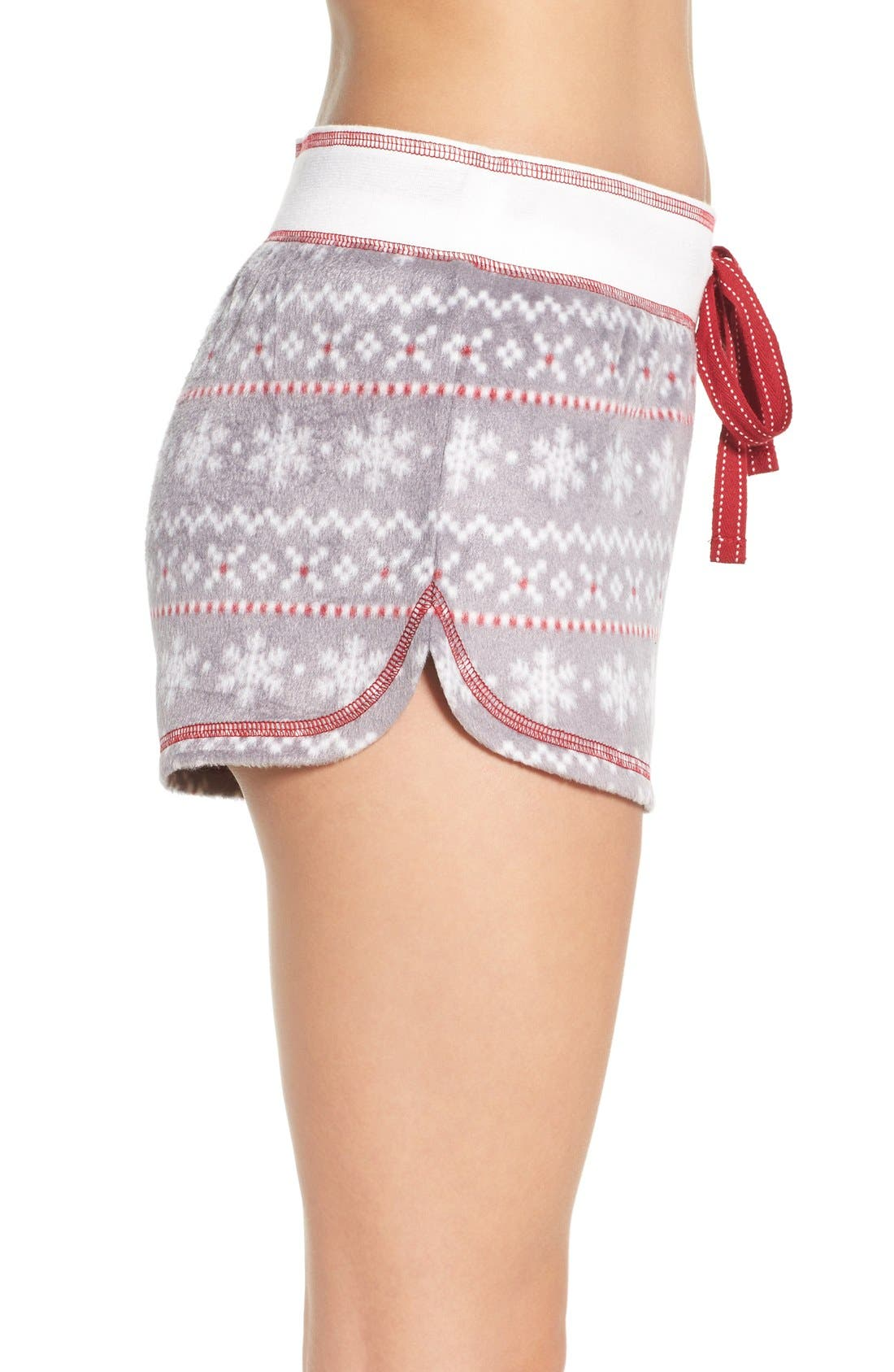 Alternate Image 3  - PJ Salvage Polar Fleece Shorts