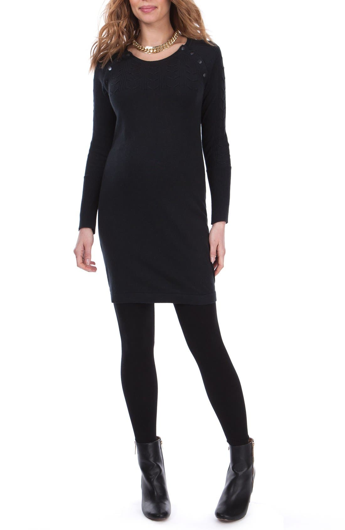 Seraphine Rita Maternity Sweater Dress