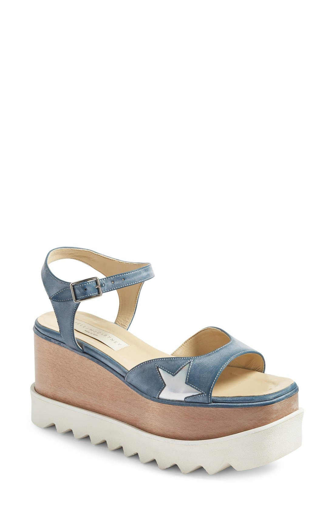 STELLA MCCARTNEY Star Platform Wedge Sandal