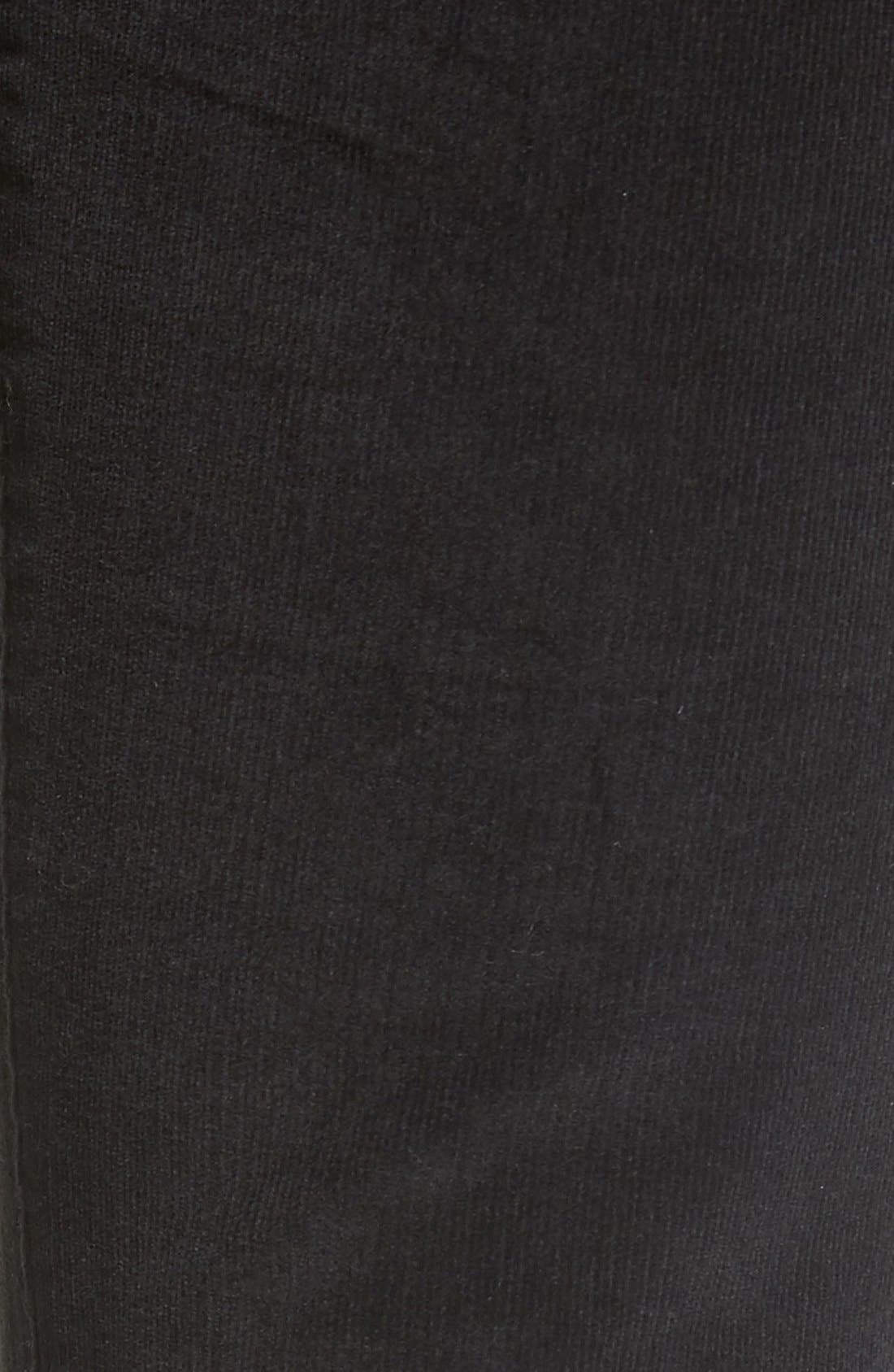 Alternate Image 5  - Sun & Shadow Lace-Up Flare Corduroy Pants