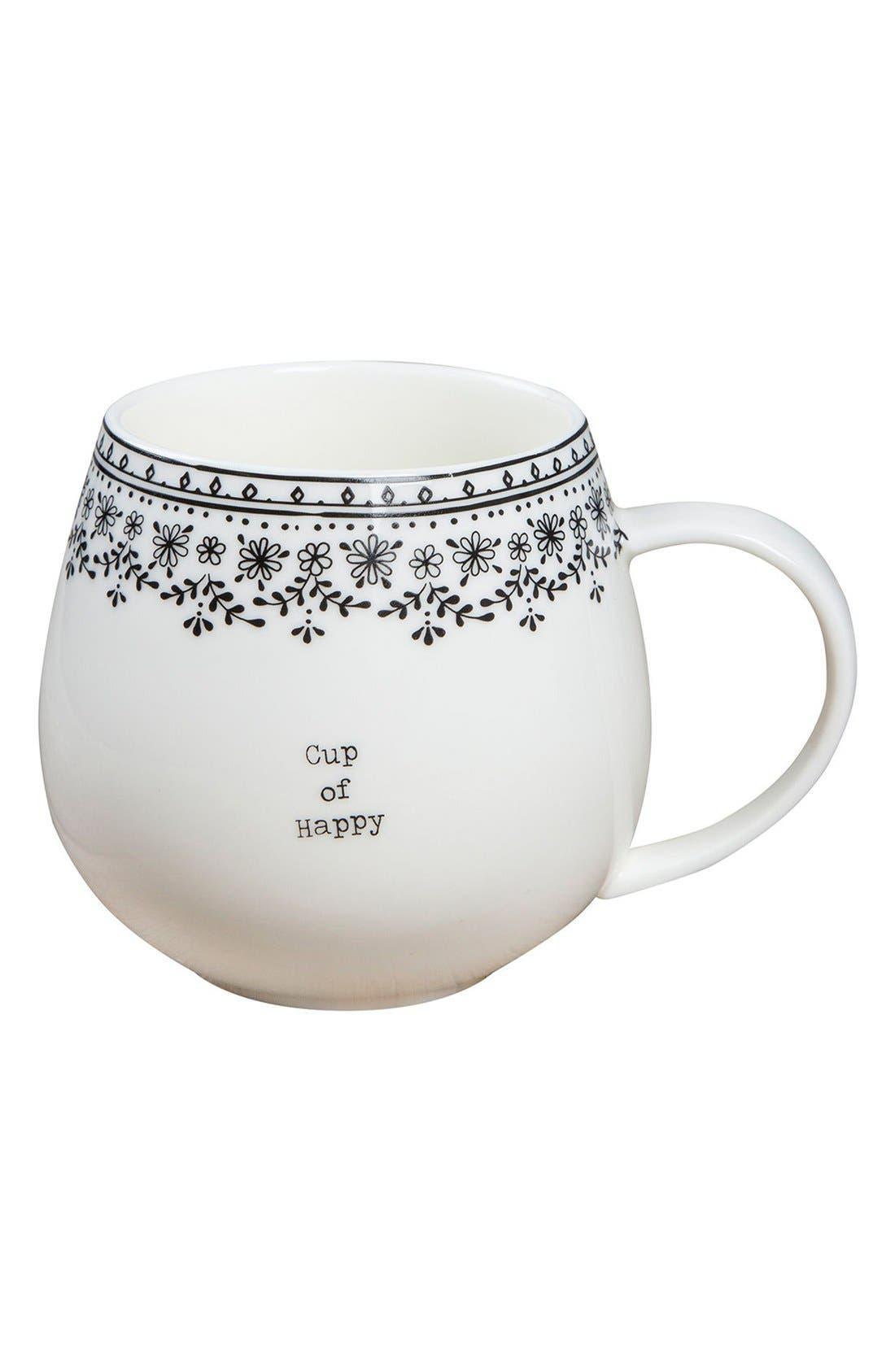 Natural Life 'Cup Of' Ceramic Mug
