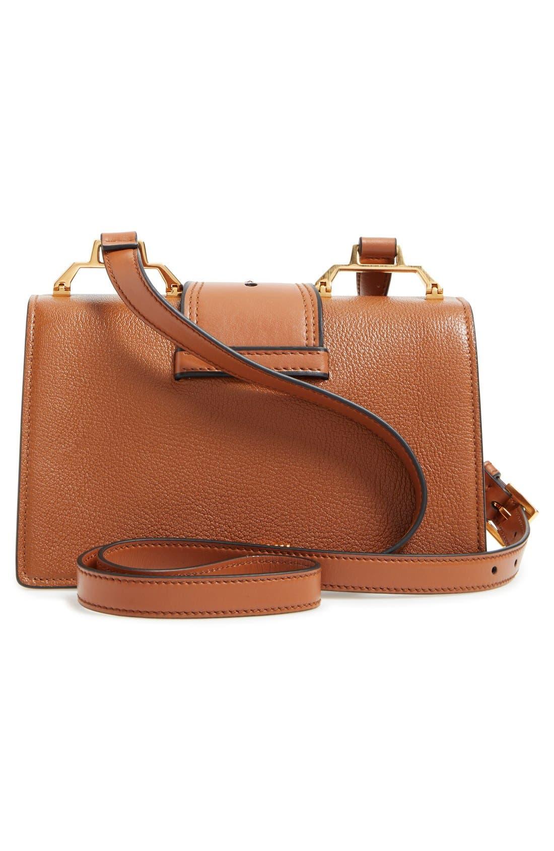 Alternate Image 3  - Miu Miu 'Small Madras' Crystal Embellished Leather Shoulder Bag