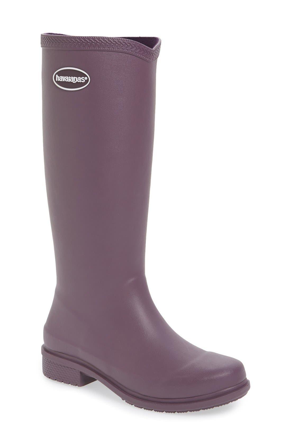 Main Image - Havaianas 'Galochas Hi Matte' Waterproof Rain Boot (Women) (Wide Calf)