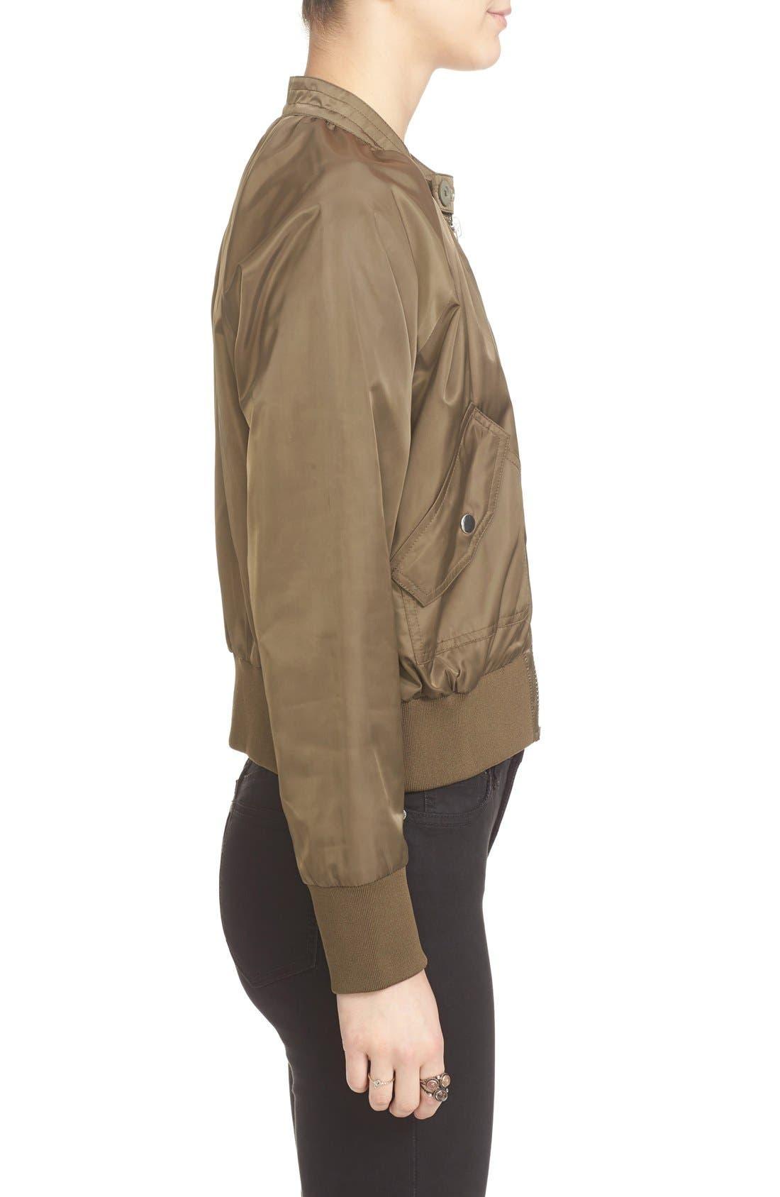 Alternate Image 3  - Free People Midnight Bomber Jacket