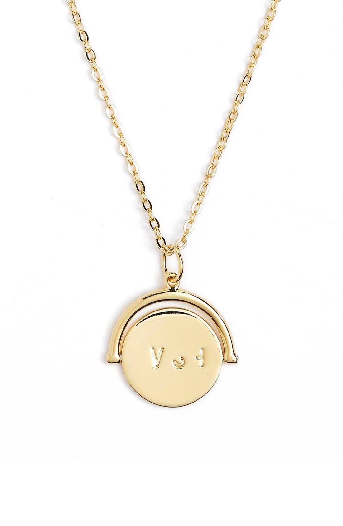 lulu dk Wish Love Code Charm Necklace