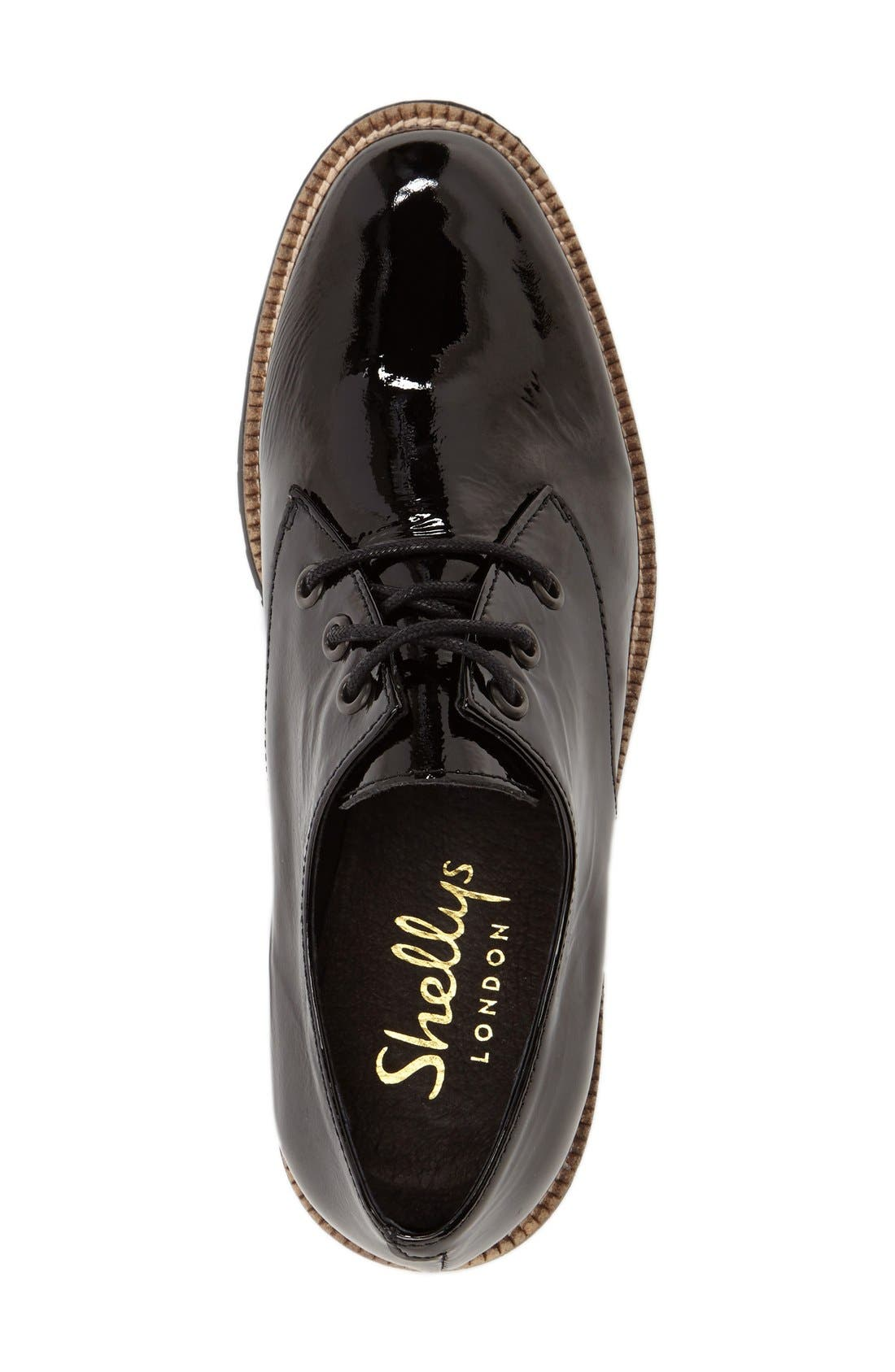 Alternate Image 3  - Shelly's London 'Terrwyn' Platform Oxford (Women)
