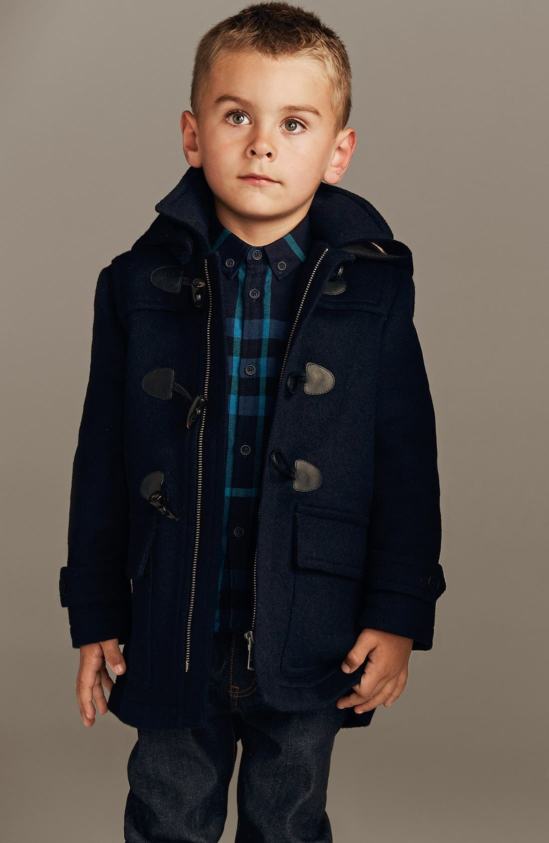 Alternate Image 6  - Burberry Skinny Fit Jeans (Little Boys & Big Boys)