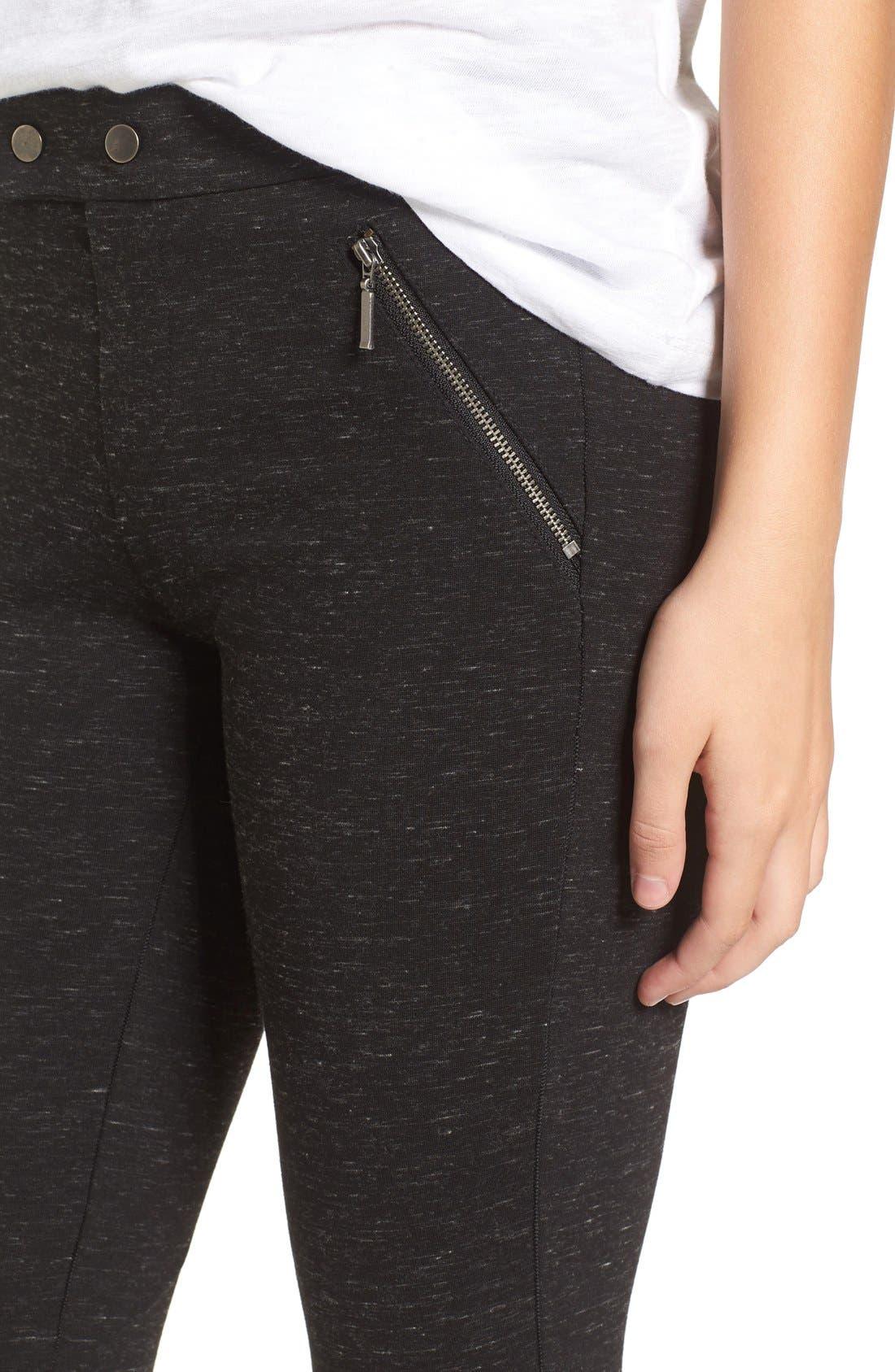 Alternate Image 4  - Wit & Wisdom Ponte Knit Pants (Regular & Petite) (Nordstrom Exclusive)
