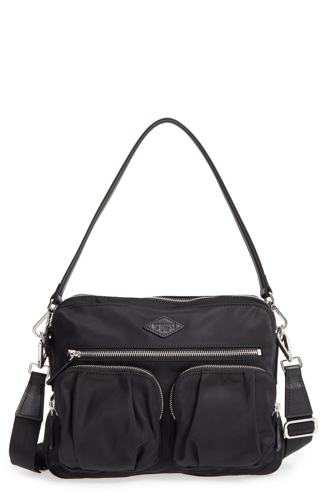 MZ Wallace 'Small Roxy' Bedford Nylon Shoulder Bag | Nordstrom