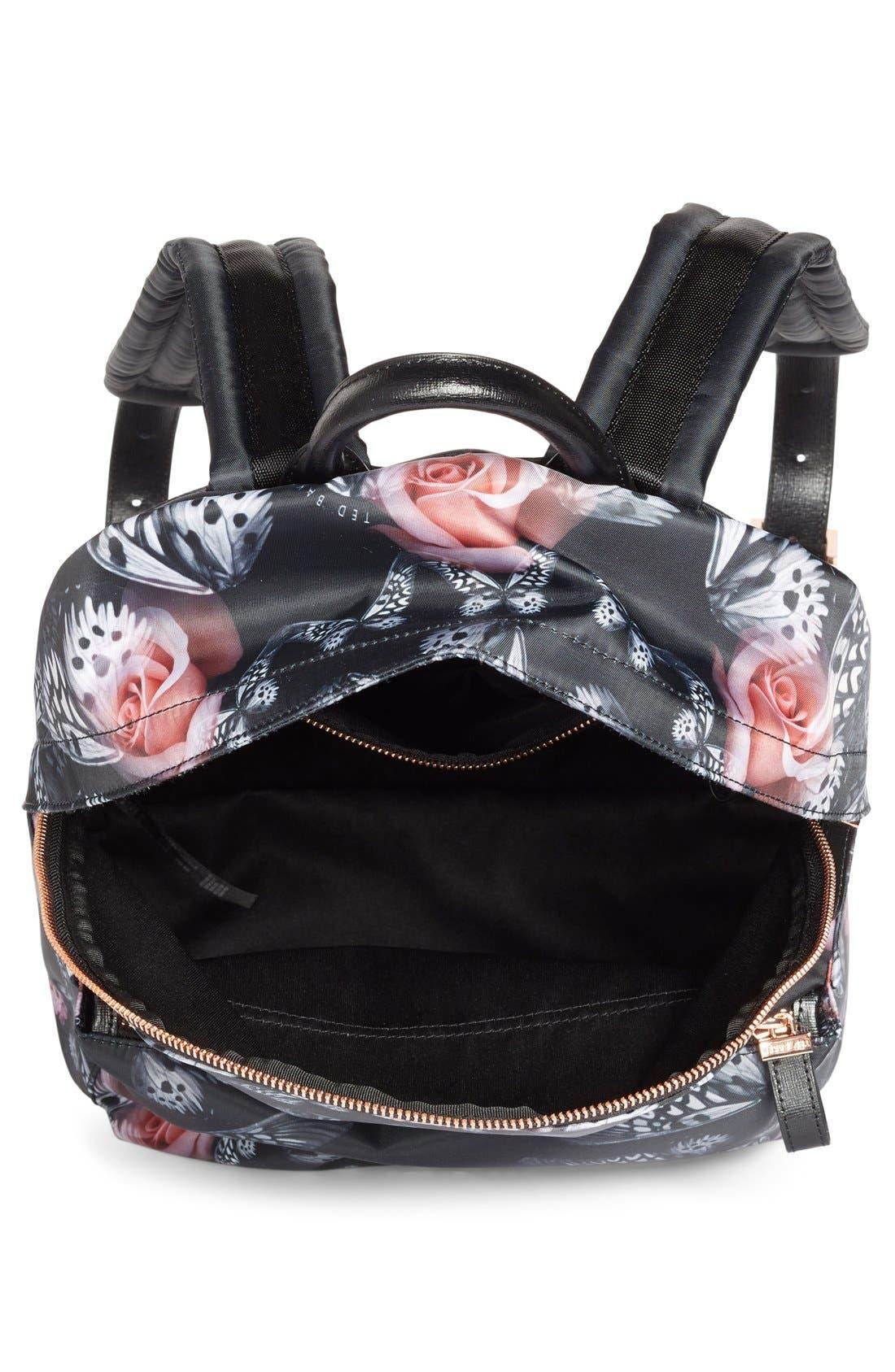 Alternate Image 4  - Ted Baker London Dynamic Butterfly Print Backpack