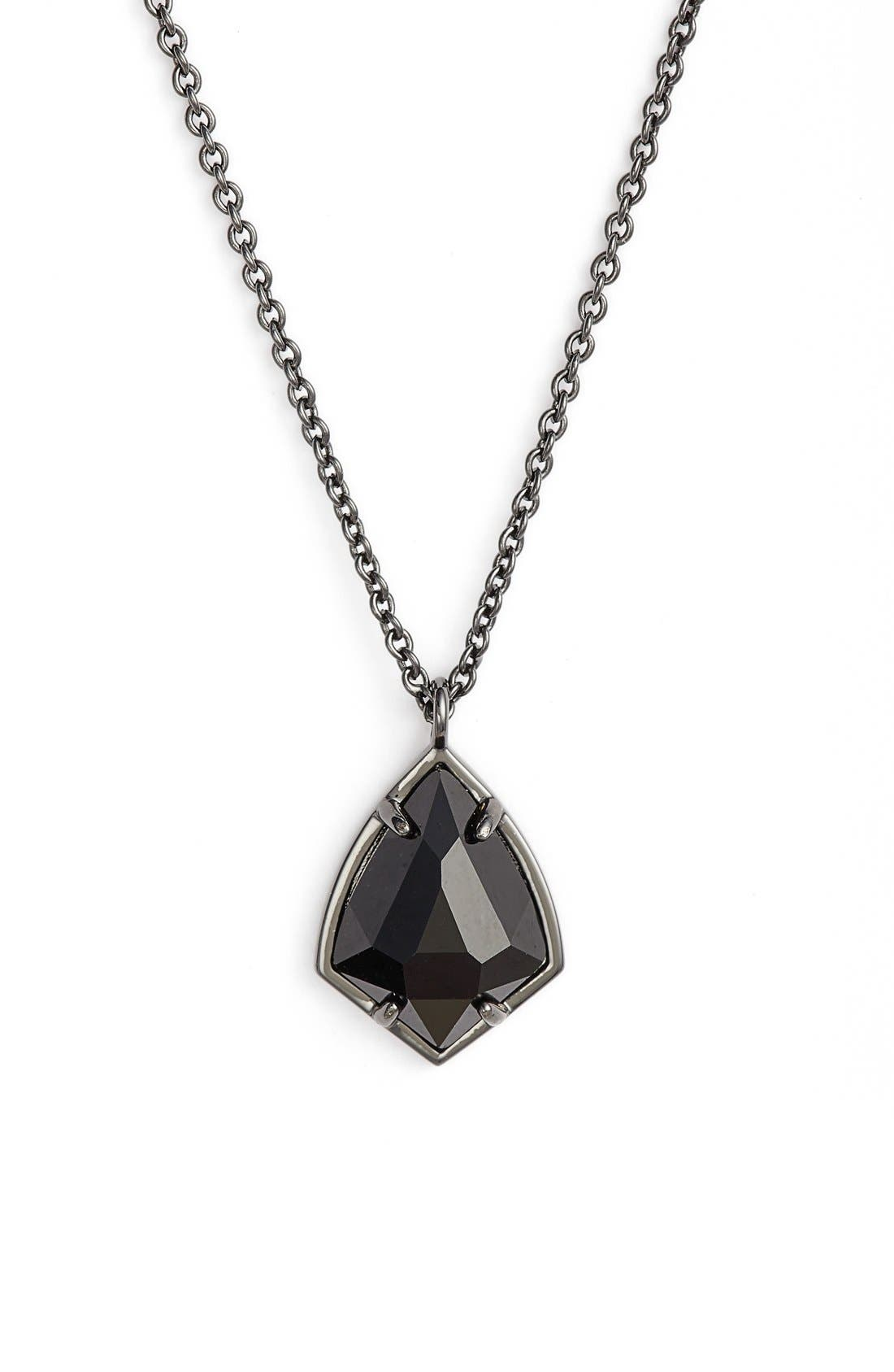 Kendra Scott 'Cory' Semiprecious Stone Pendant Necklace