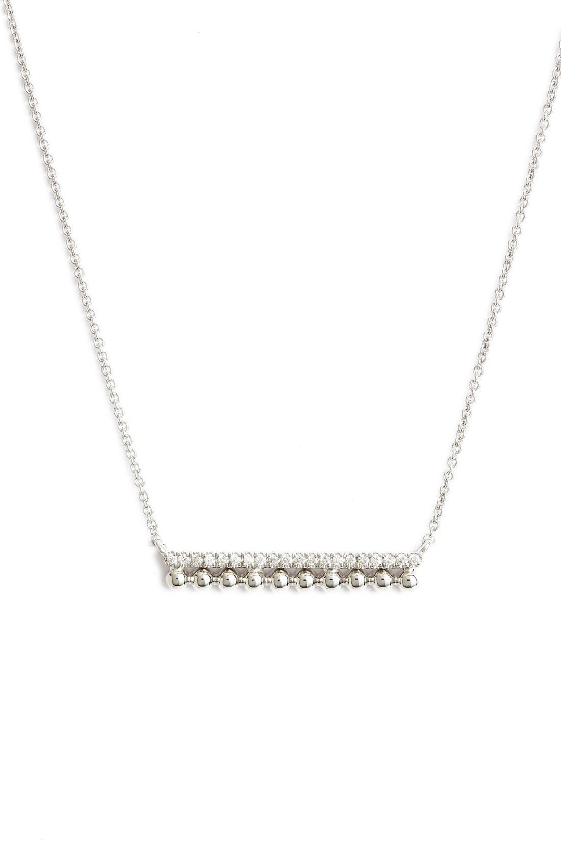 Dana Rebecca Designs 'Poppy Rae' Bar Pendant Necklace