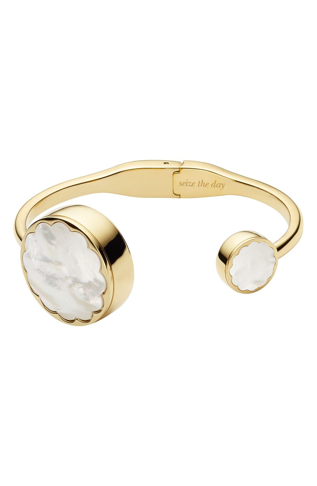 KATE SPADE NEW YORK mother of pearl hinge
