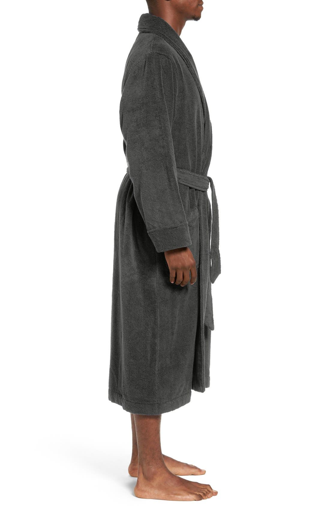 Alternate Image 3  - Nordstrom Hydro Cotton Terry Robe