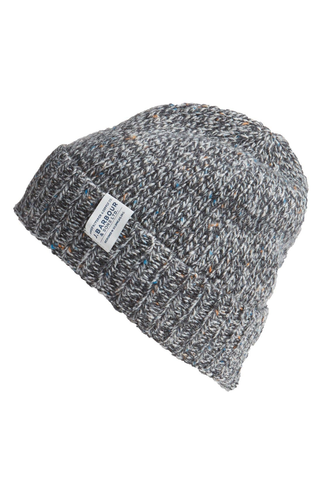 Main Image - Barbour Whitfield Beanie