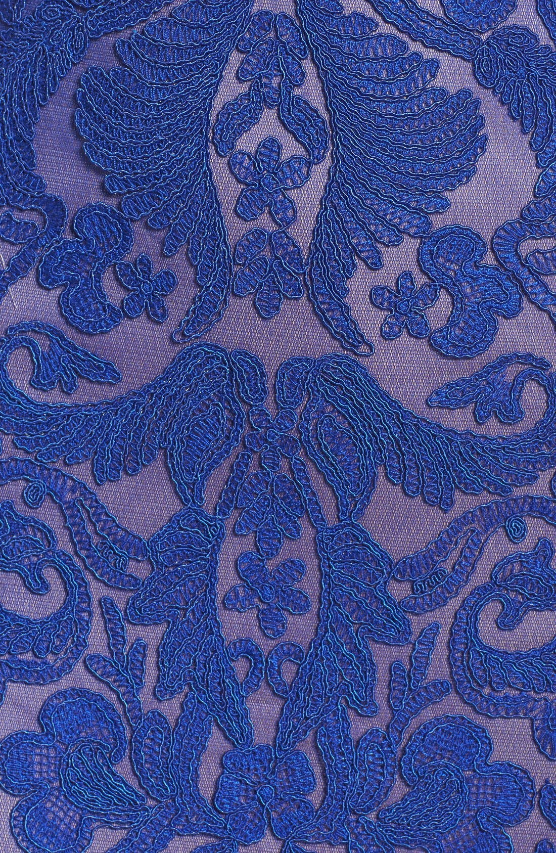 Alternate Image 6  - Tadashi Shoji Lace Gown