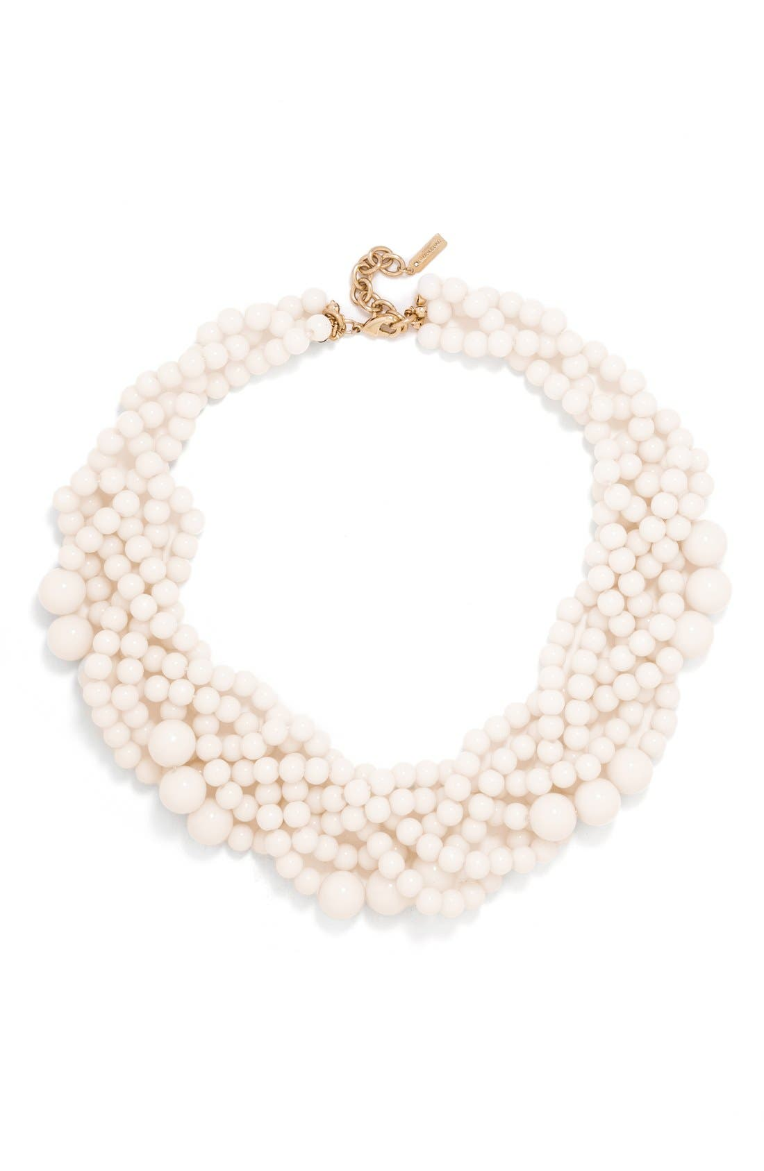 BaubleBar Bubblestream Imitation Pearl Necklace