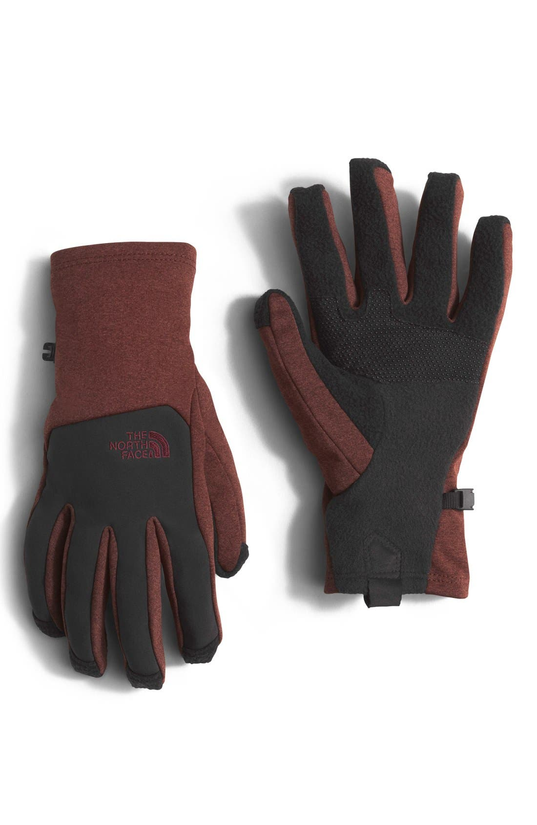 Alternate Image 1 Selected - The North Face 'CanyonWall E-Tip' Tech Gloves